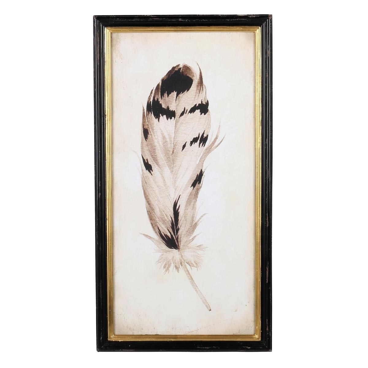 Feather Wall Art With Regard To Most Recently Released Chippewa Feather Wall Art, Metal Wall Art (View 10 of 20)