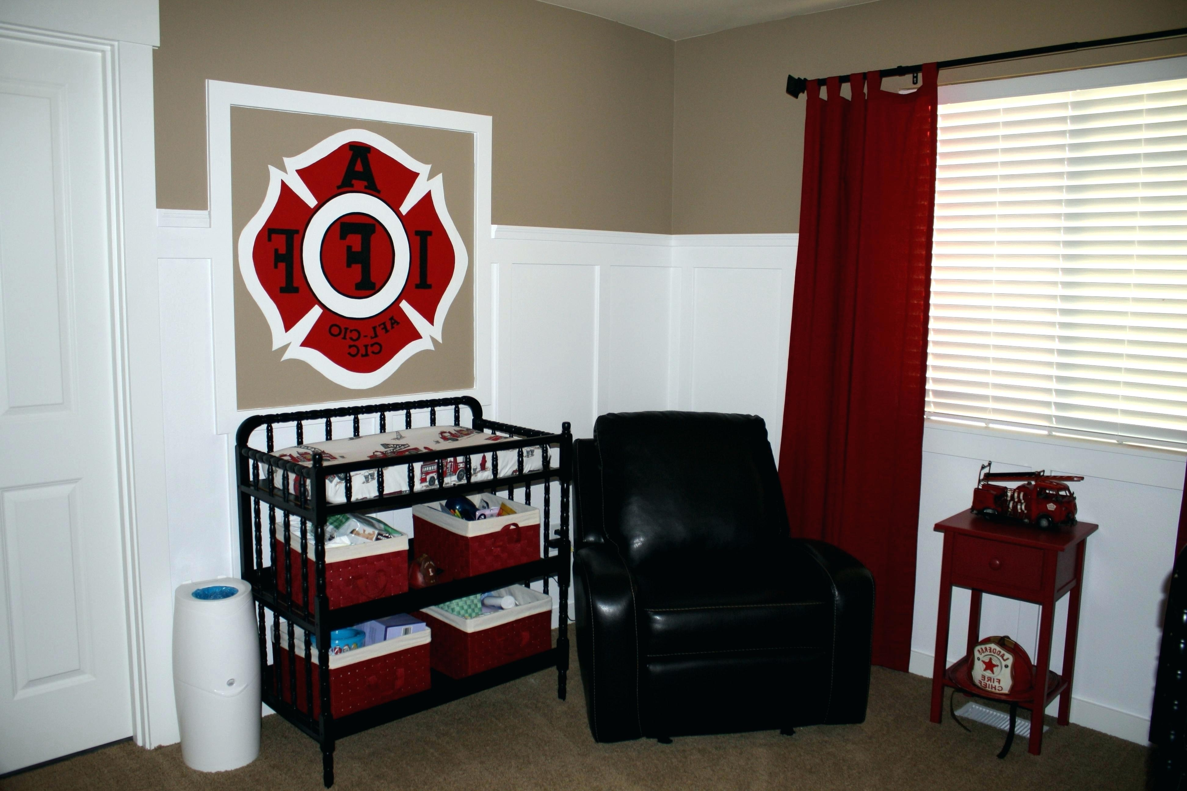 Fireman Wall Decals Articles With Fire Station Wall Decor Tag With Preferred Firefighter Wall Art (View 11 of 20)