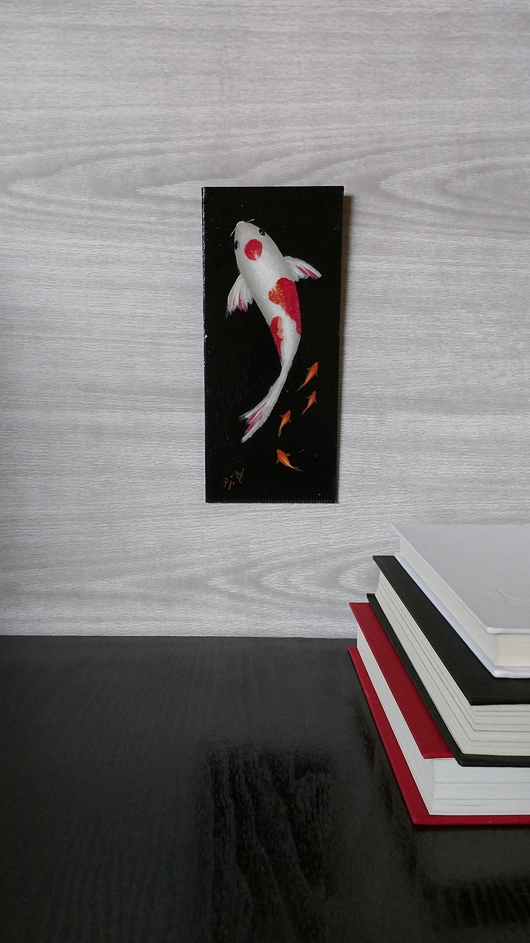 Fish Painting Wall Art For Fashionable Koi Fish Painting – Goldfish – Wall Art – Painted Fish – Red And (View 5 of 20)