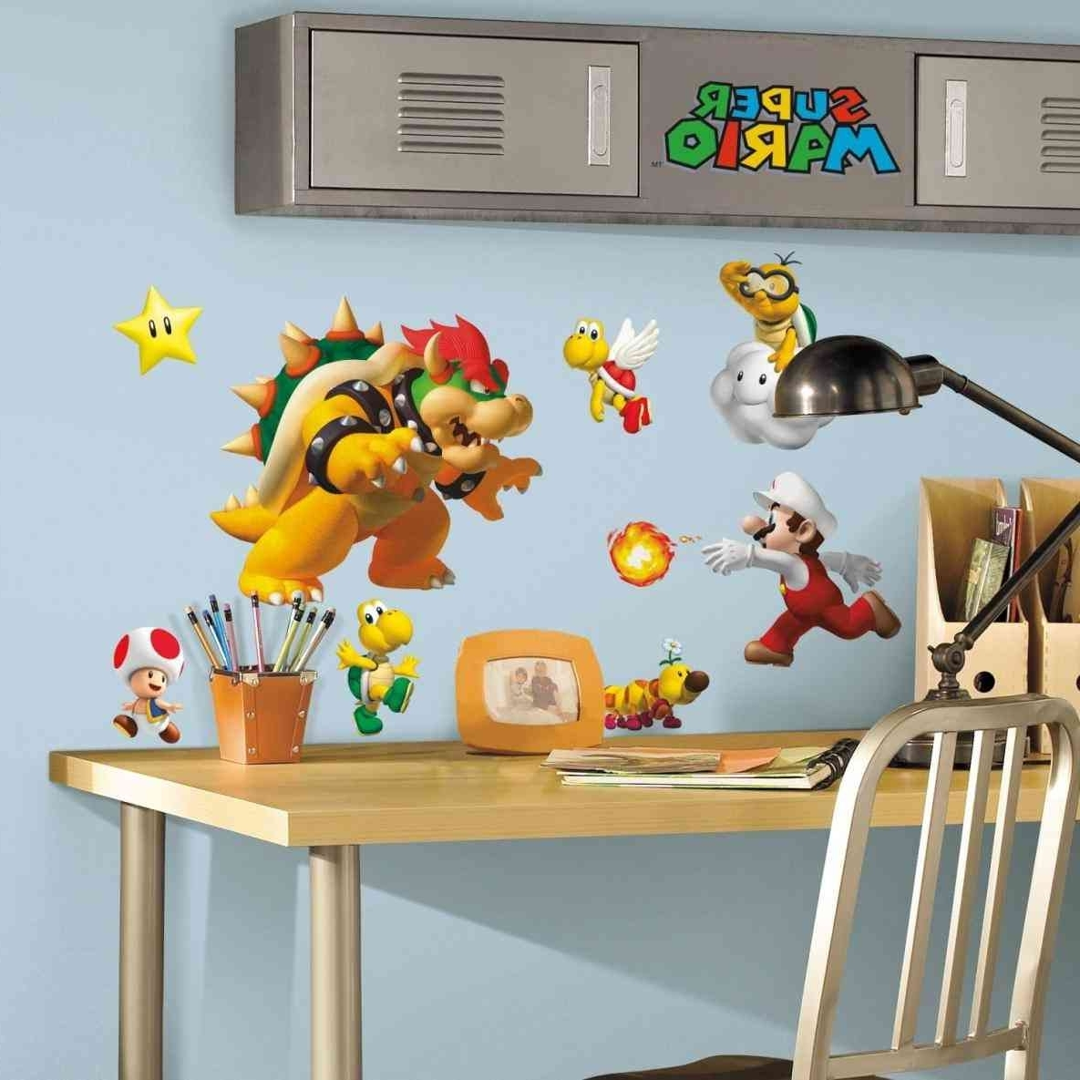 Flooring And Wall Art Ideas With 2017 Nintendo Wall Art (View 4 of 20)
