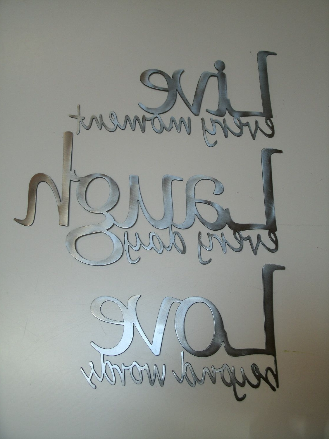 For The Home + Diy Regarding Preferred Live Laugh Love Wall Art (Gallery 14 of 20)