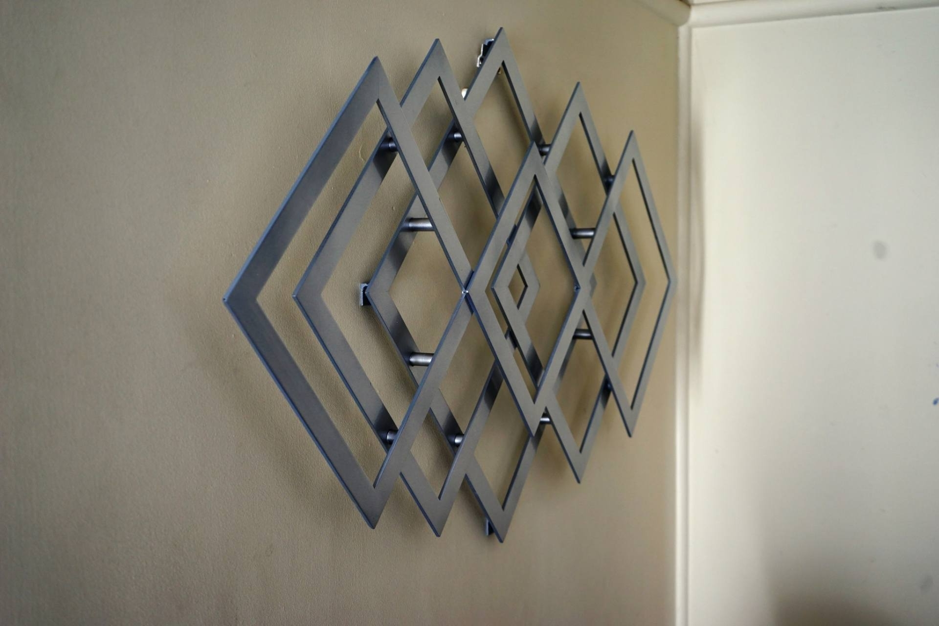 Geometric Metal Wall Art For Recent Saatchi Art: Geometric Metal Wall Art Sculpturealdo Milin (Gallery 7 of 20)