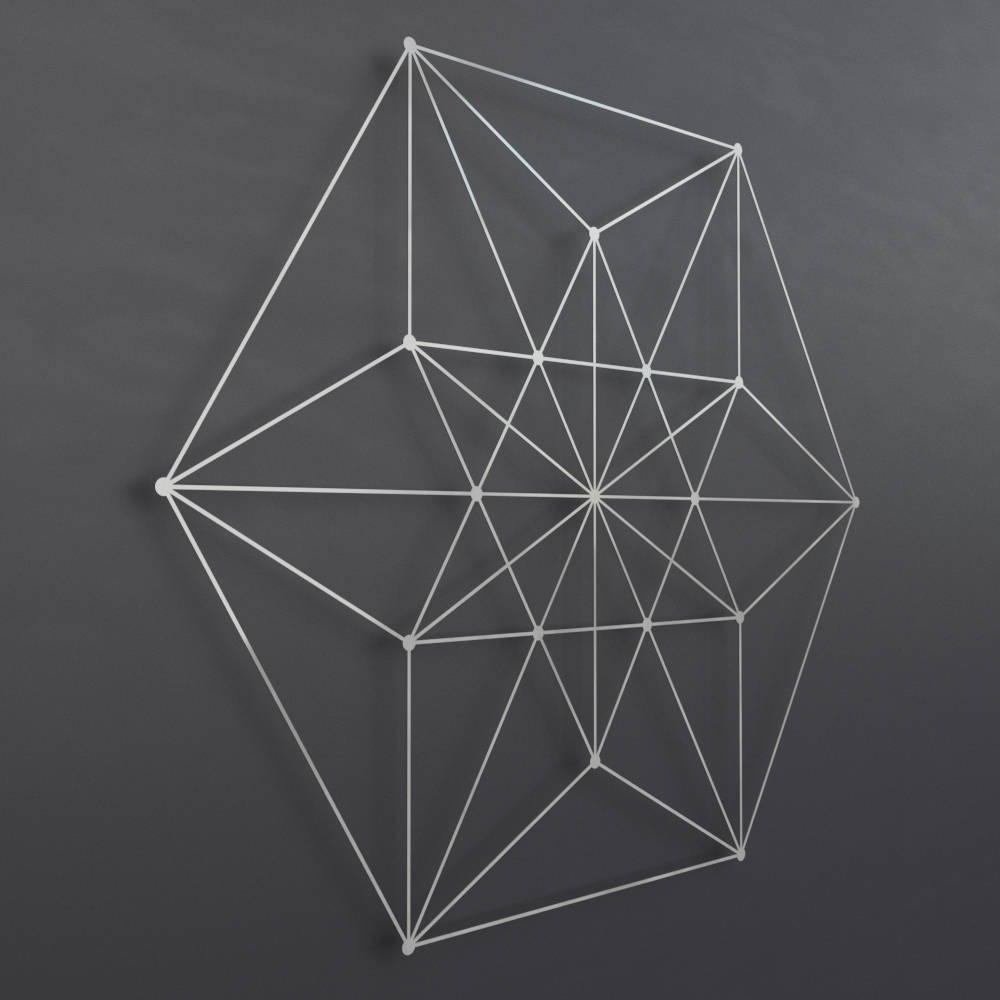 Geometric Metal Wall Art Within Most Recently Released Vector Equilibrium Metal Wall Art Sculpture, Sacred Geometry Wall (Gallery 10 of 20)