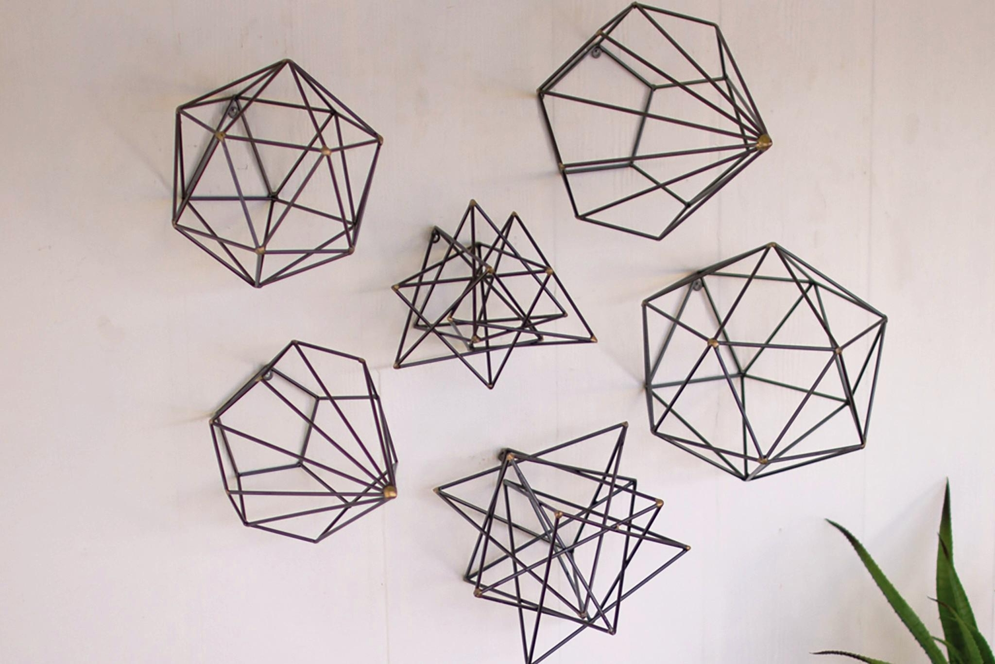 Geometric Wall Art Set — Biaf Media Home Design With Regard To Most Popular Geometric Wall Art (View 7 of 20)