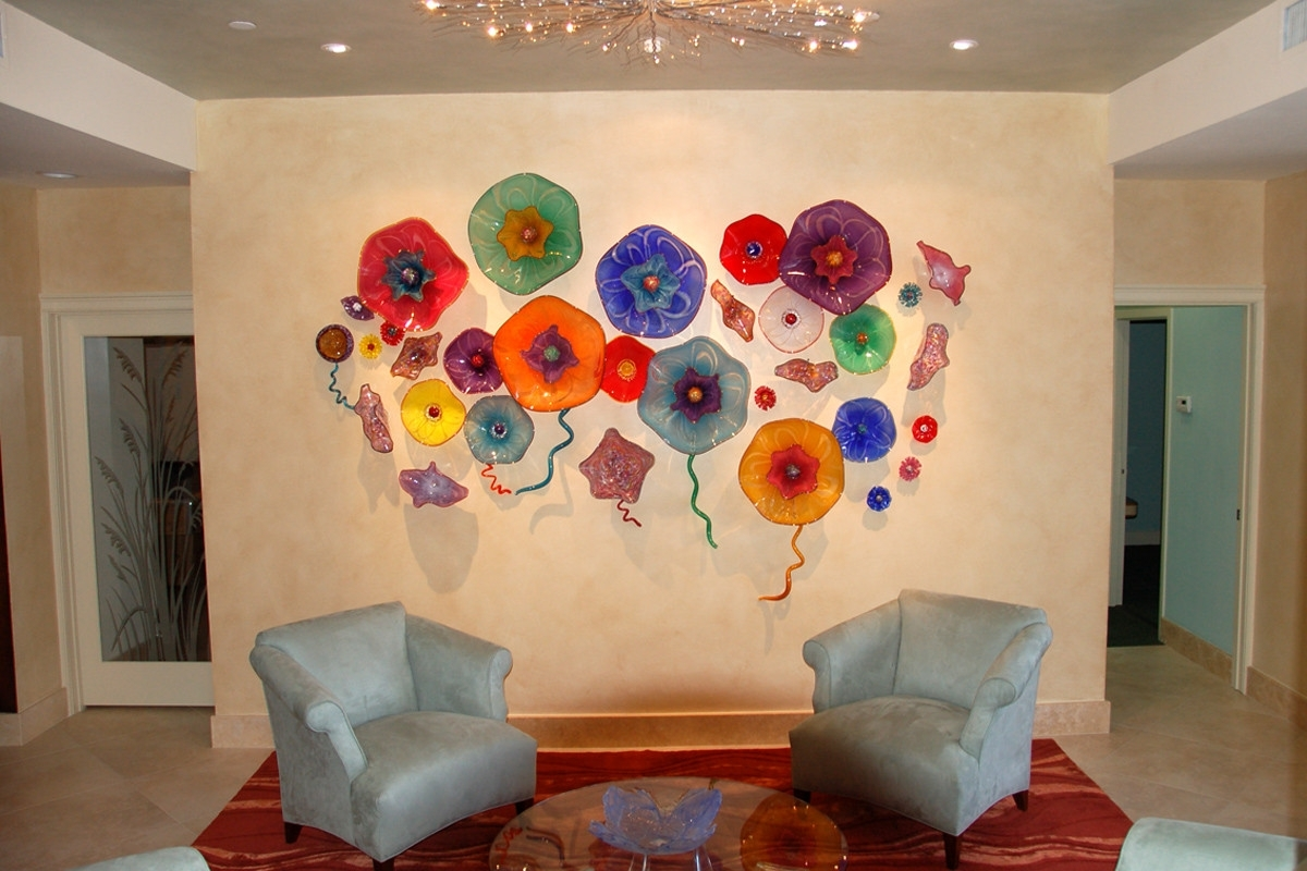 Glass Wall Art Plate Design Ideas Arresting For Walls (View 12 of 20)