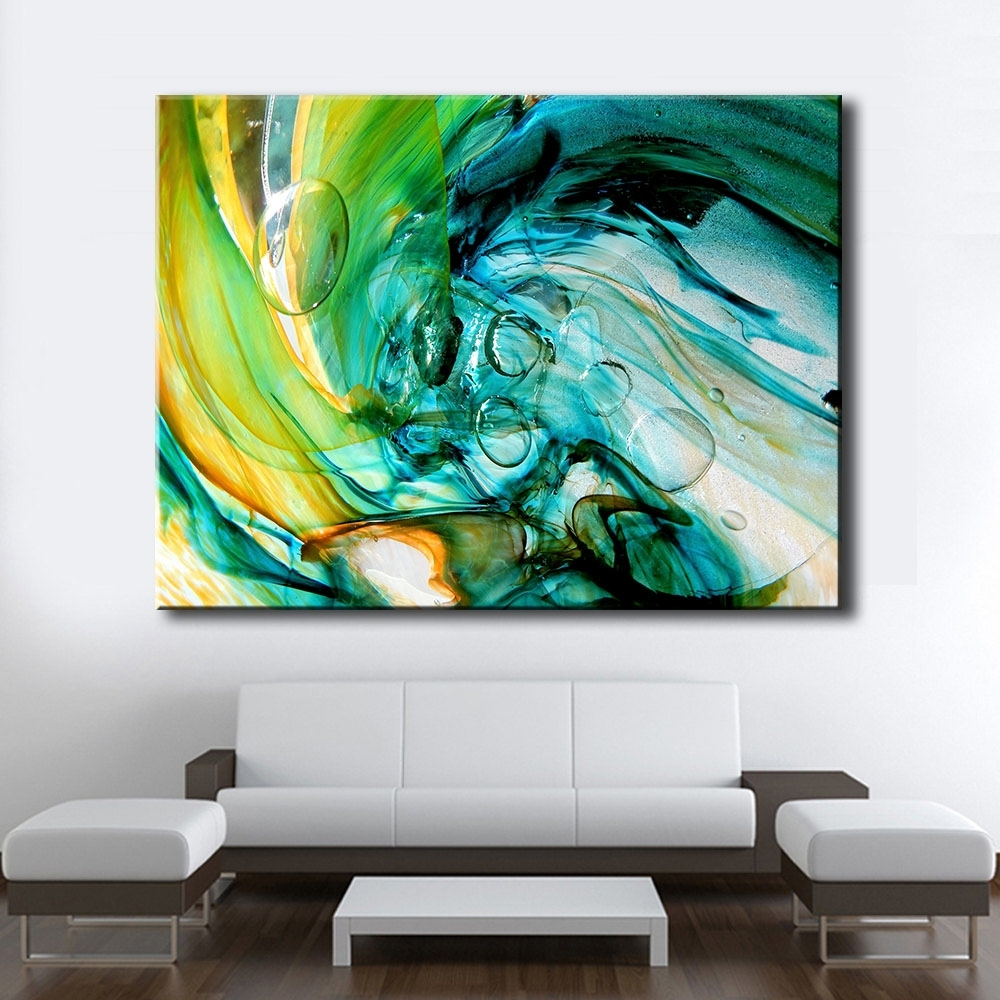 Glass Wall Art Throughout Trendy Large Size Print Oil Painting Wall Painting Glass Blowing Art Home (Gallery 6 of 15)