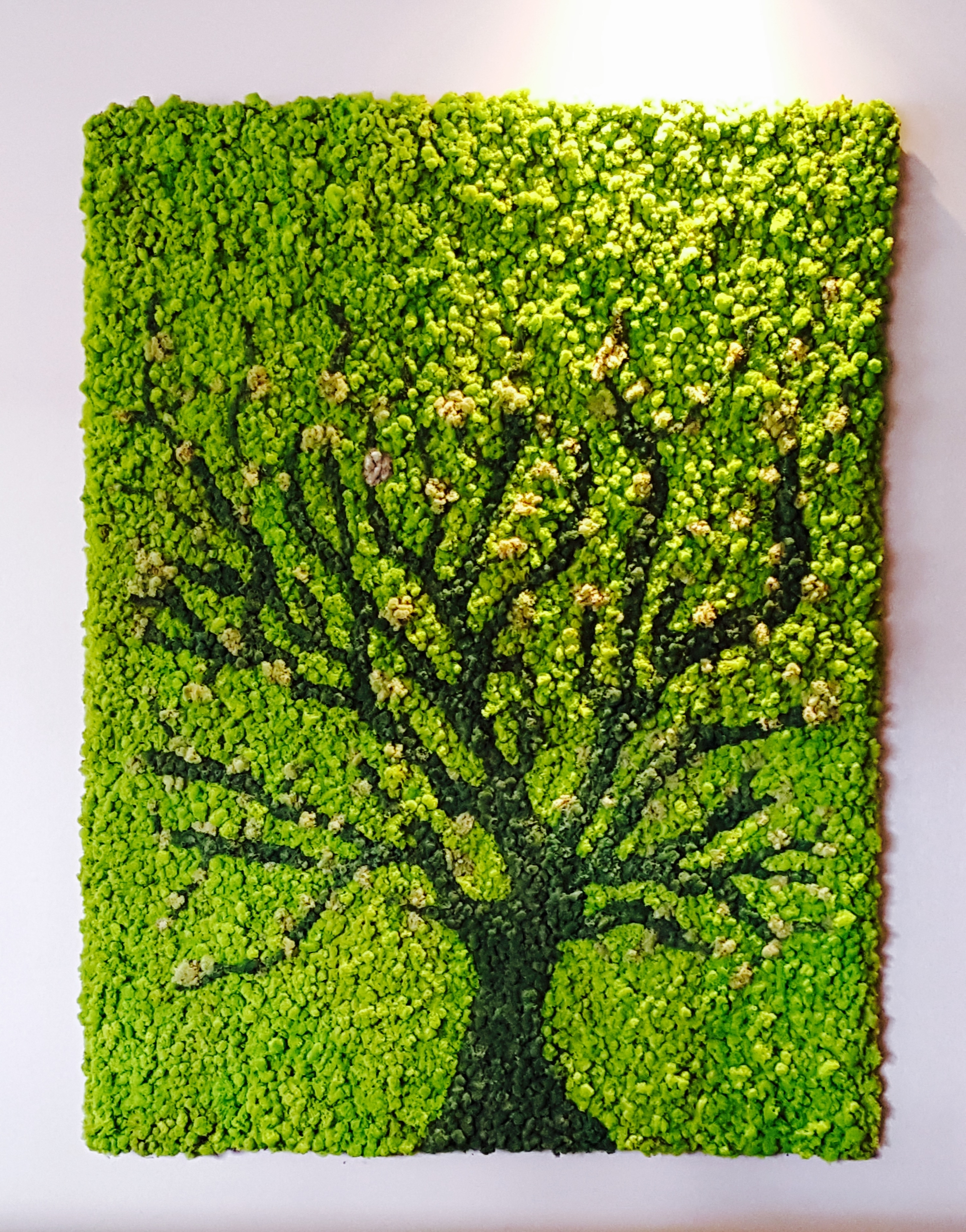 Greenery Office Interiors Intended For Well Liked Living Wall Art (Gallery 4 of 20)
