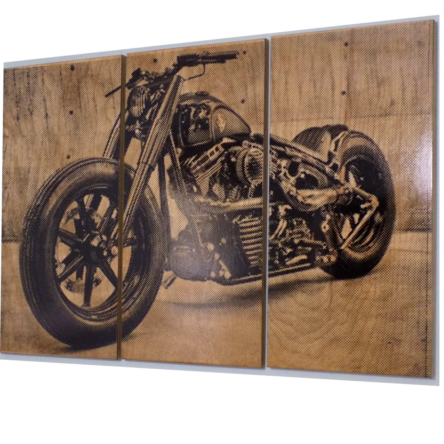 Harley Davidson Fatboy / Softail / Motorcycle / Bike Print, Harley Within Favorite Harley Davidson Wall Art (View 5 of 20)
