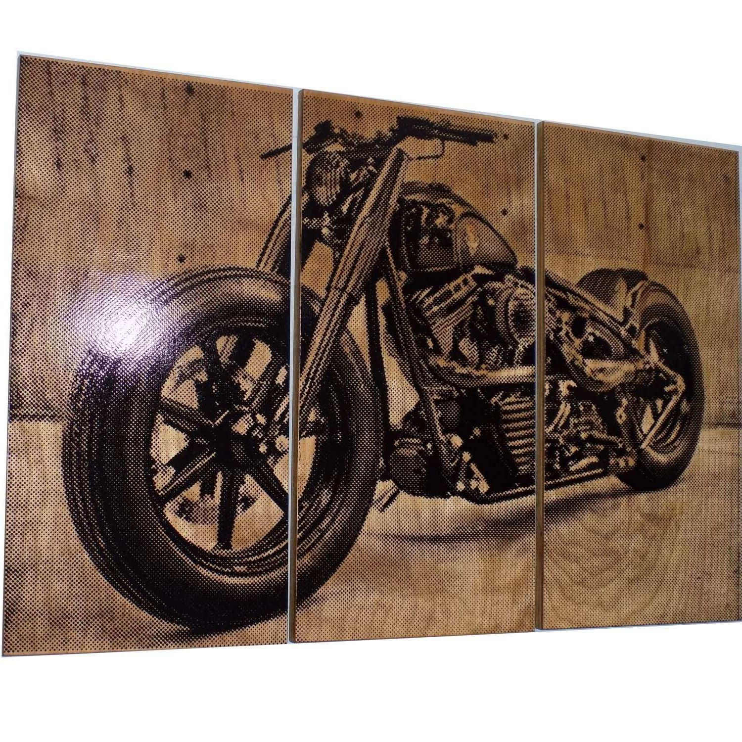 Harley Davidson Prints Wall Art Fresh Harley Davidson Fatboy Softail Within Popular Harley Davidson Wall Art (View 6 of 20)