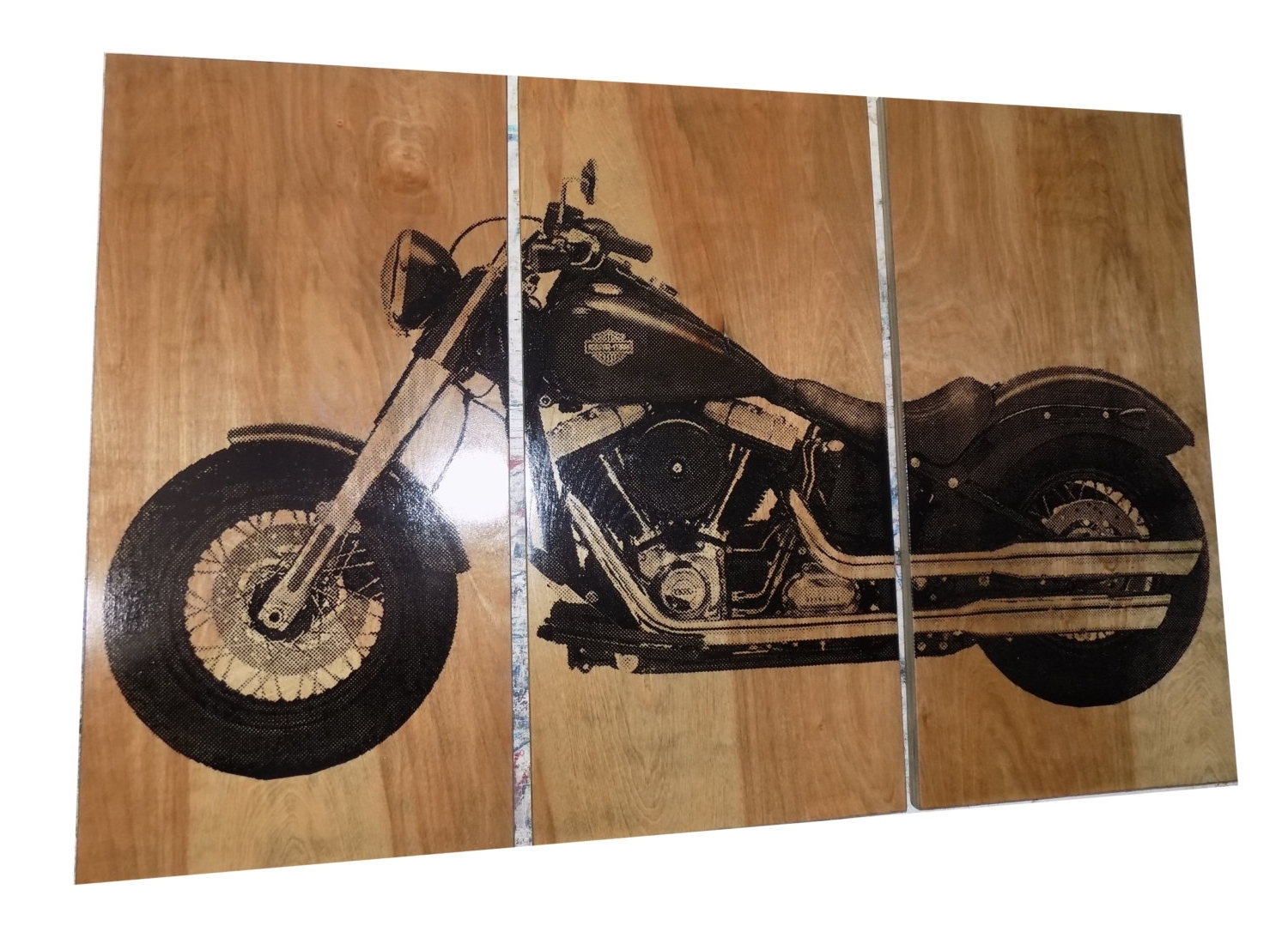 Harley Davidson Wall Art With Well Known Harley Davidson Soft Tail Nice Harley Davidson Wall Art – Prix Dalle (View 11 of 20)