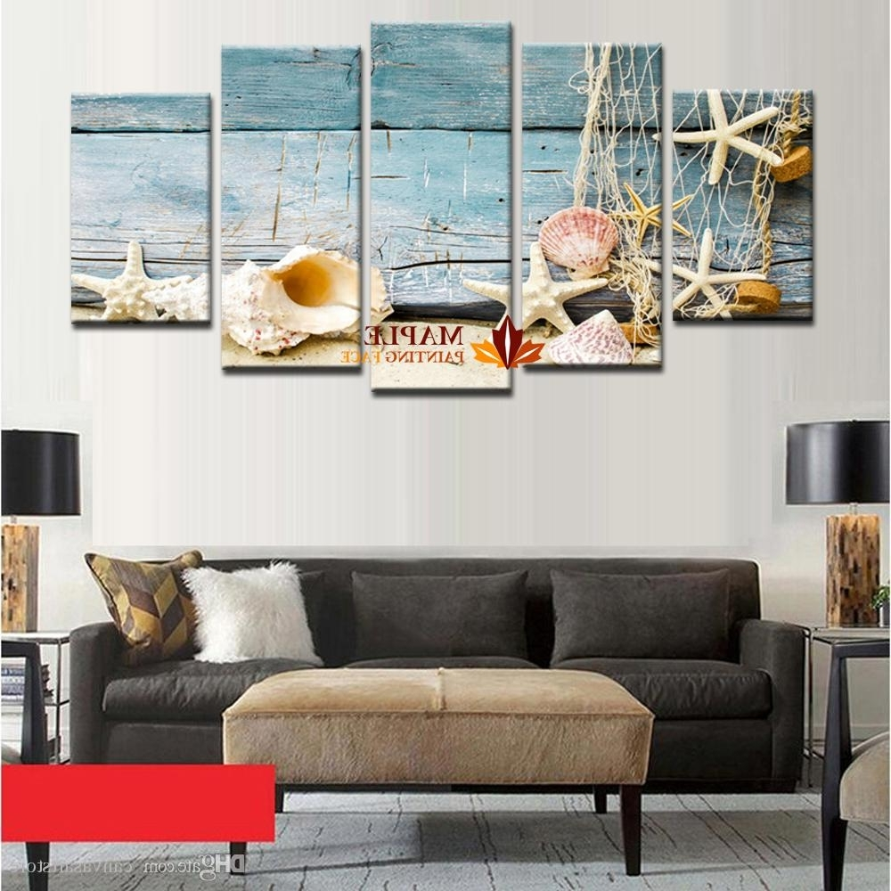 Hd Canvas Print Home Decor Wall Art Painting Picture Sea Shell Throughout Recent Cheap Large Wall Art (Gallery 4 of 20)