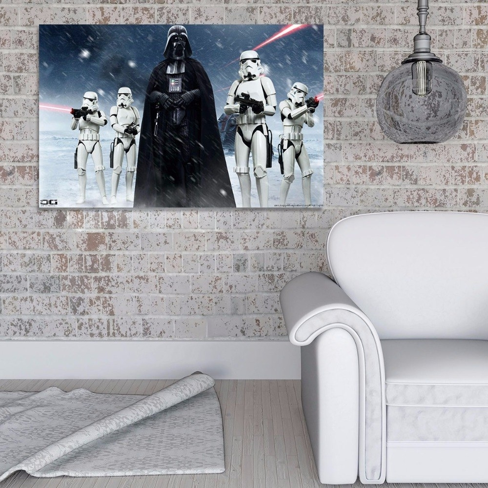 Home Decor Canvas Paintings Wall Art 1 Piece Star Wars Darth Vader Pertaining To Newest Darth Vader Wall Art (View 10 of 20)