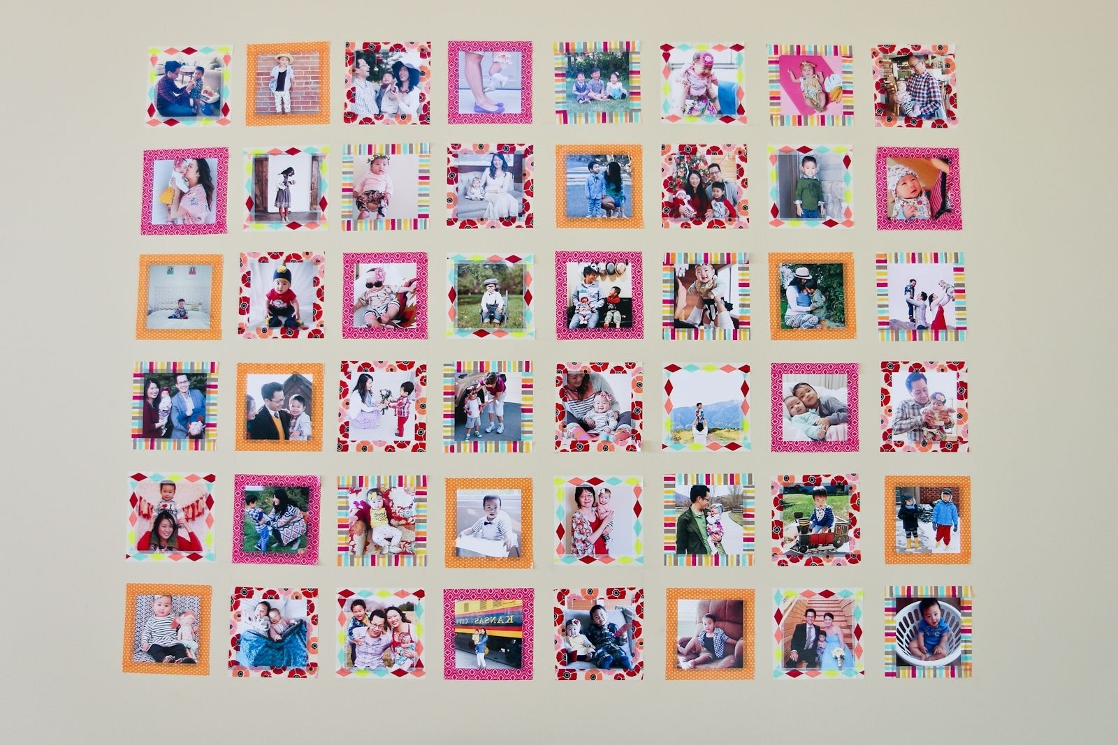 Instagram Wall, Washi Tape And (View 12 of 20)