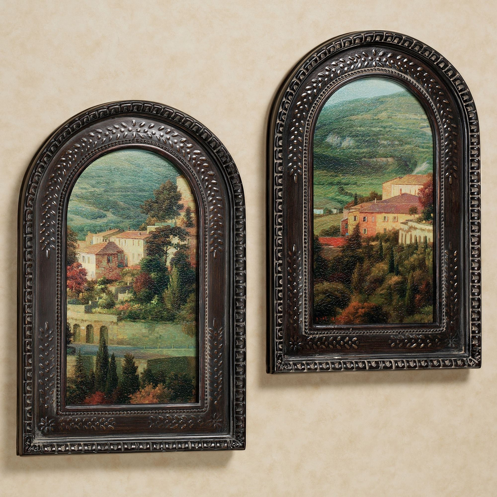 Italian Overlook Framed Wall Art Set Intended For Most Recently Released Cheap Framed Wall Art (Gallery 14 of 20)