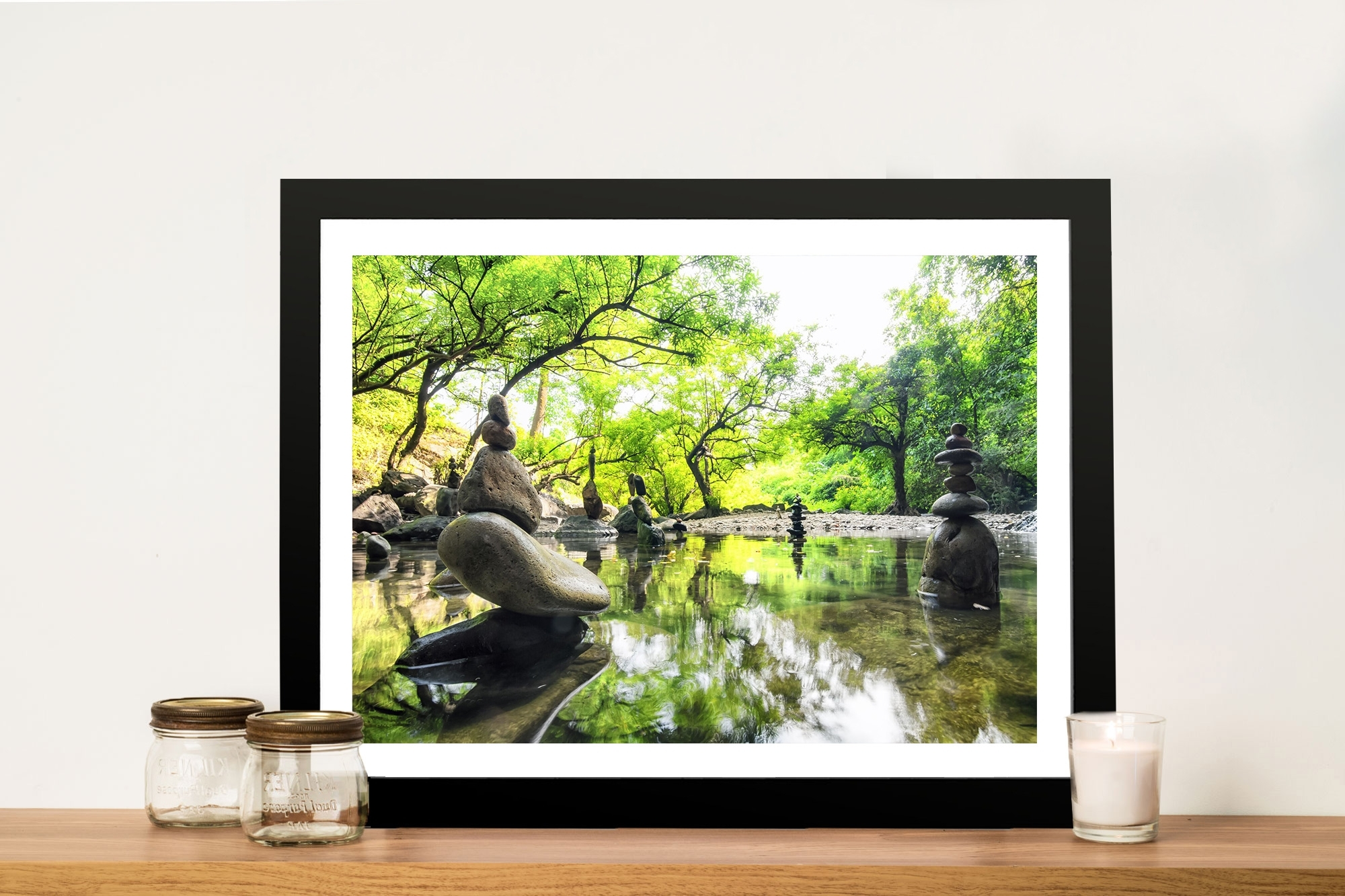 Japanese Garden Tranquility Canvas Print Adelaide In Most Recent Japanese Wall Art (Gallery 12 of 20)