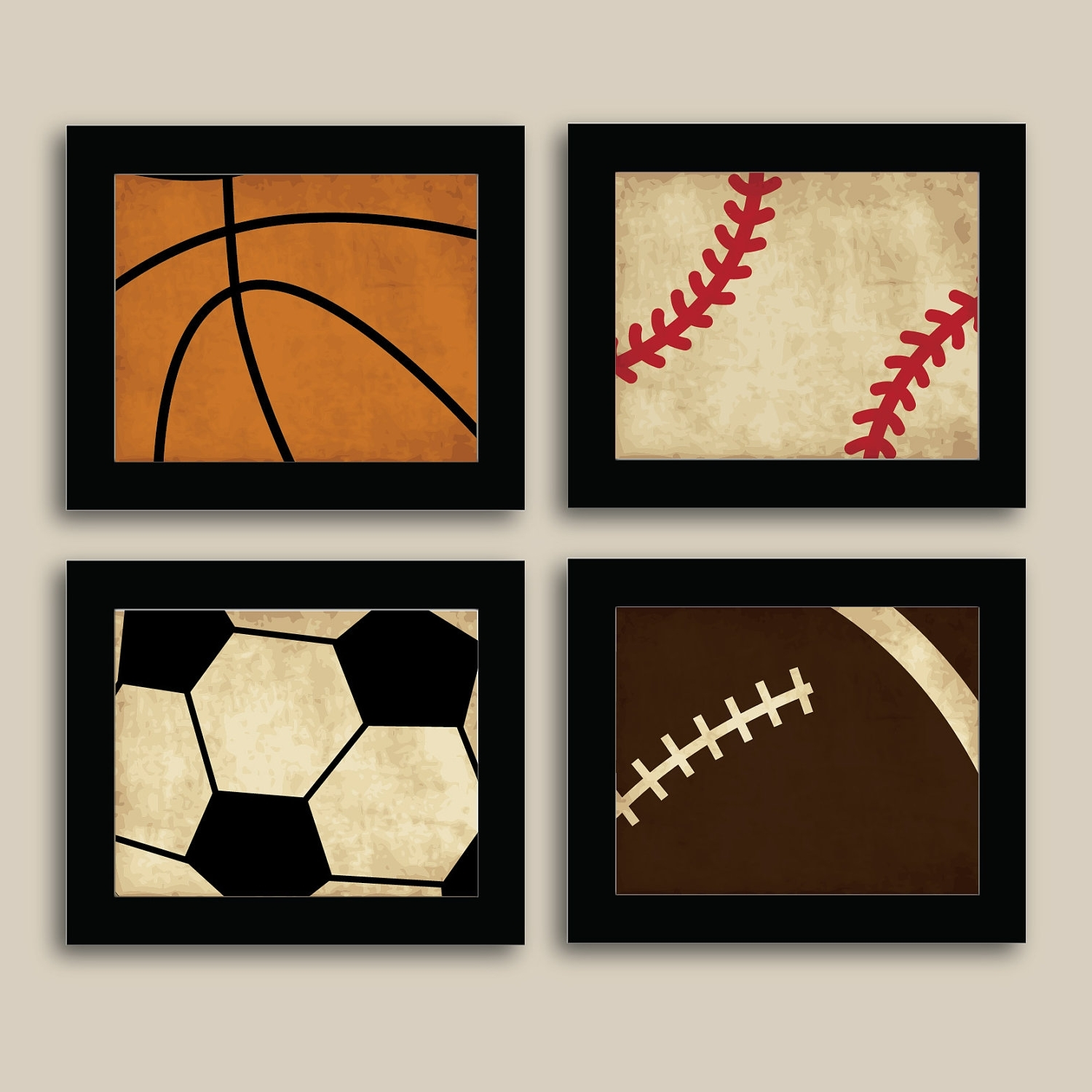 Kids Sports Wall Art – Elitflat Within Recent Sports Wall Art (View 5 of 20)