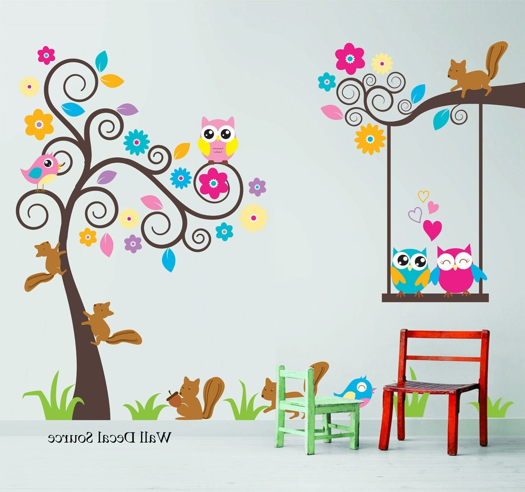 Kids Wall Art For Current Kids Wall Decals – 2 – In Decors (Gallery 12 of 15)