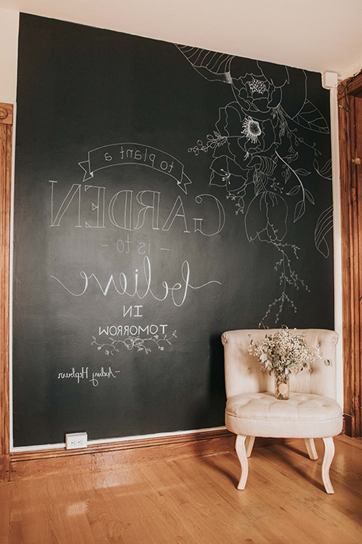 Kitchen : Chalkboard Color Kitchen Chalkboard Wall Art Decorative Pertaining To Fashionable Chalkboard Wall Art (View 13 of 20)