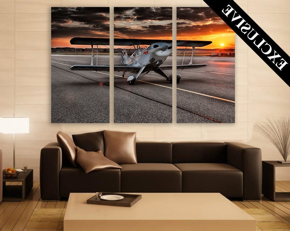 Large Aviation Wall Art – Elitflat Throughout Famous Aviation Wall Art (View 9 of 20)