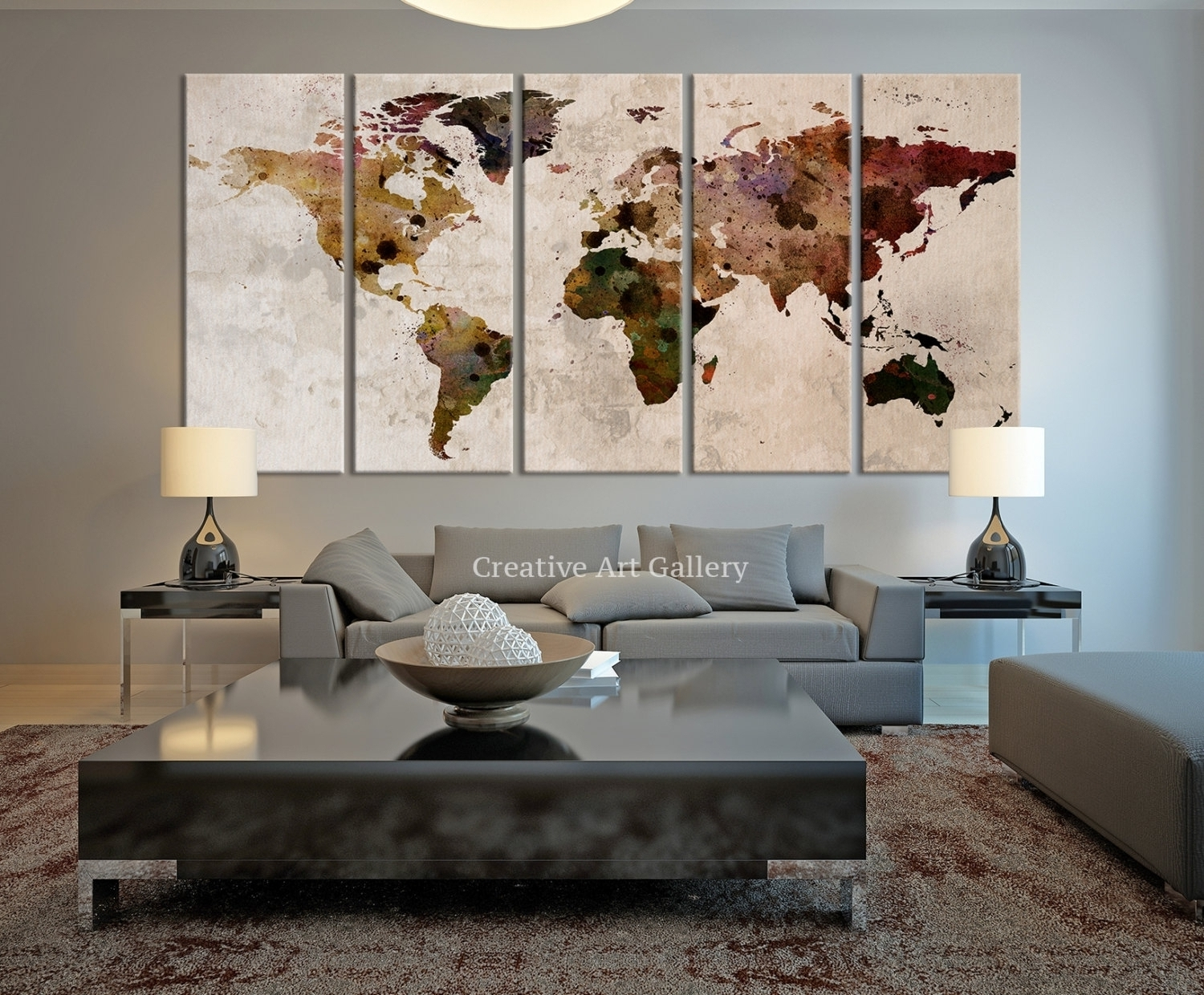 Large Rustic Wall Art Within Most Recently Released Rustic Wall Decor Ideas To Help You Add Rustic Beauty To Your (Gallery 16 of 20)