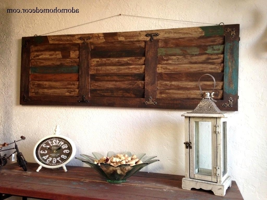 Large Rustic Wall Art Within Popular Endearing Startling Large Wood Wall Decor Large Wood Wall Art Unique (View 8 of 20)
