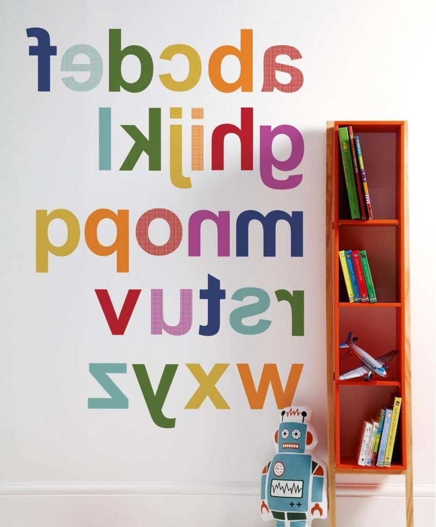 Latest Alphabet Wall Art In Alphabet Wall Art – Culturehoop (View 11 of 20)