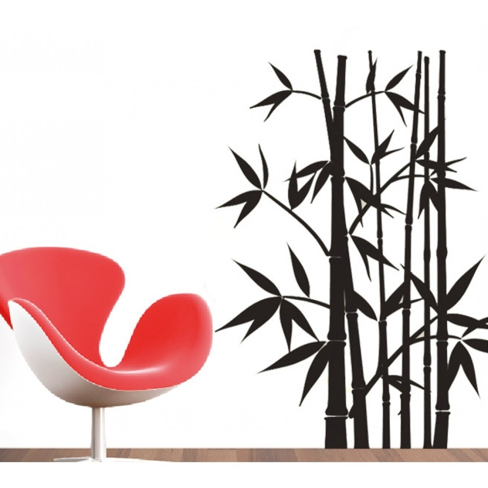 Latest Bamboo Wall Art With Regard To Bamboo Wall Sticker (View 13 of 20)