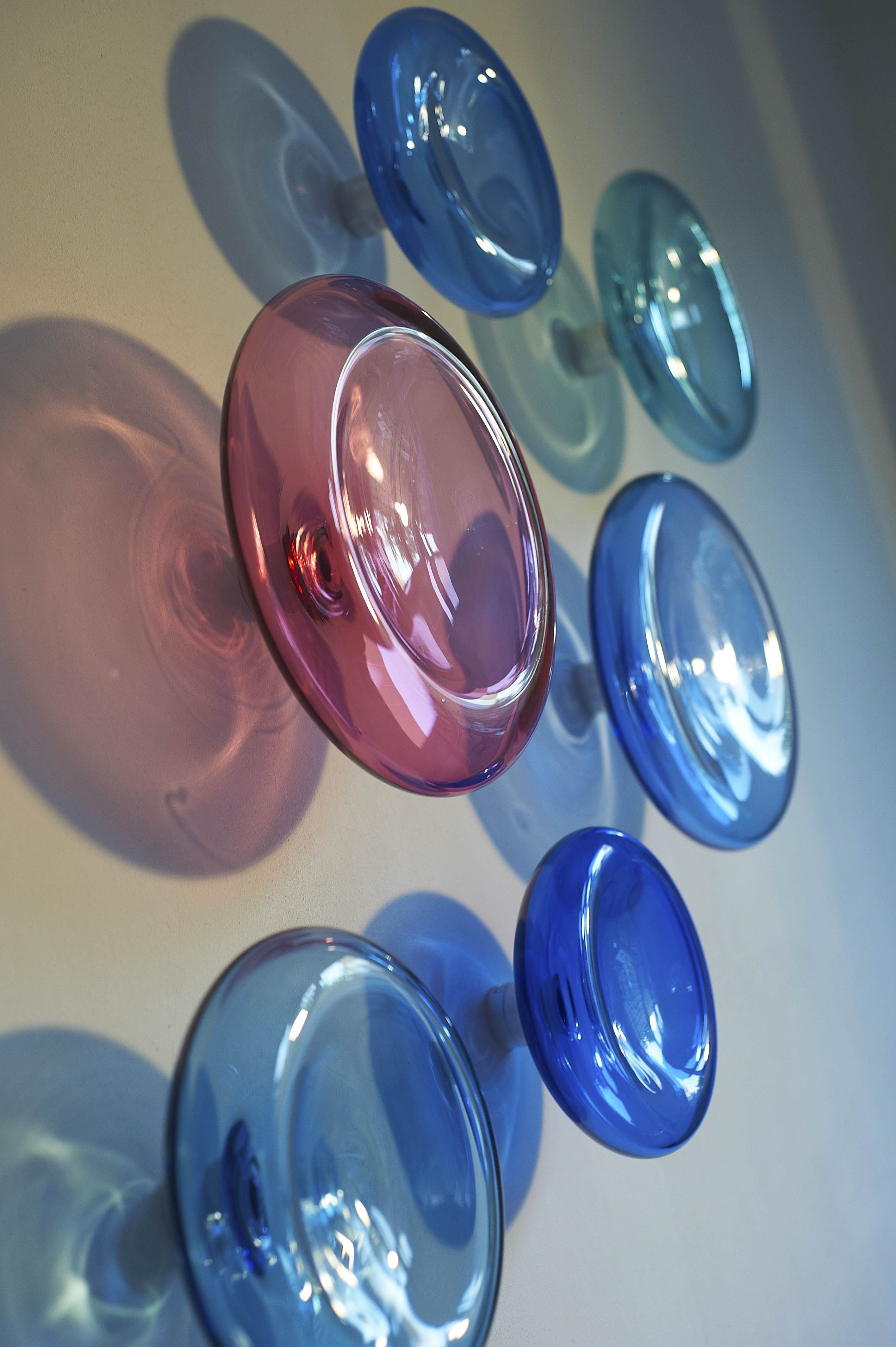 Latest Blown Glass Wall Art Pertaining To Modern Glass Wall Artalvitra Design / 3D Wall Sculpture (View 9 of 20)