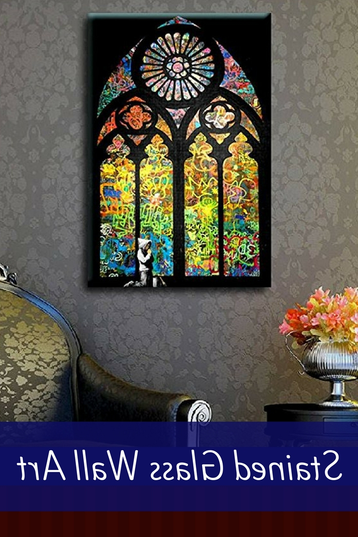 Latest Extravagant, Trendy And Elegant Stained Glass Wall Art Decor Intended For Stained Glass Wall Art (View 4 of 20)