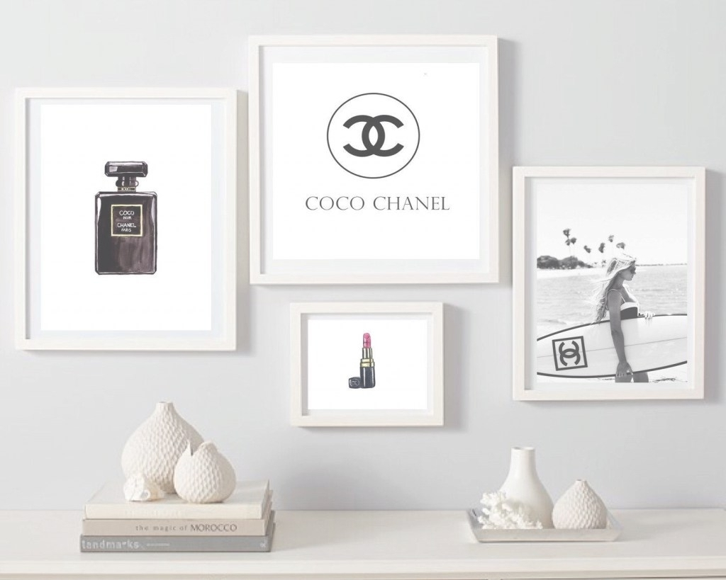 Latest Fashion Wall Art Pertaining To Fashion Wall Art Best Of Explore Photos Of Chanel Wall Decor (Gallery 9 of 20)