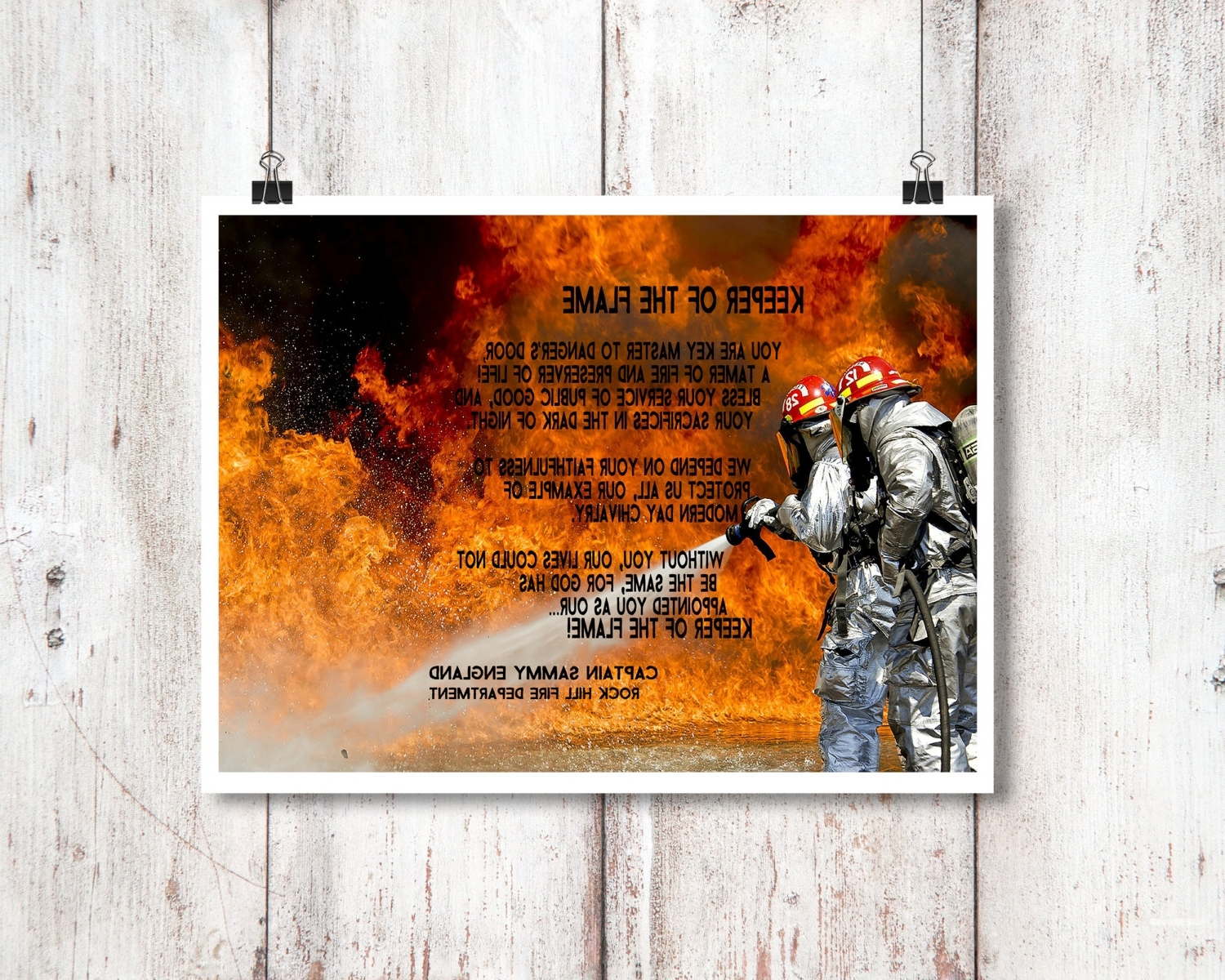 Latest Firefighter Art Decor Fireman Wall Decor Firefighter By, Firefighter Intended For Firefighter Wall Art (View 12 of 20)