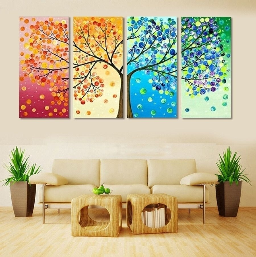 Latest Living Room Painting Wall Art Within Paintings For Living Room Living Room Wall Decor Abstract Living (View 3 of 20)