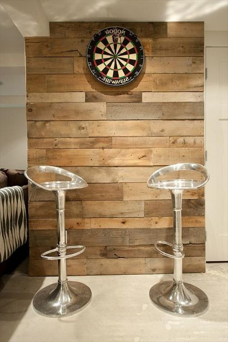 Latest Pallet Wall Art Ideas – Pallet Idea For Pallet Wall Art (Gallery 8 of 15)