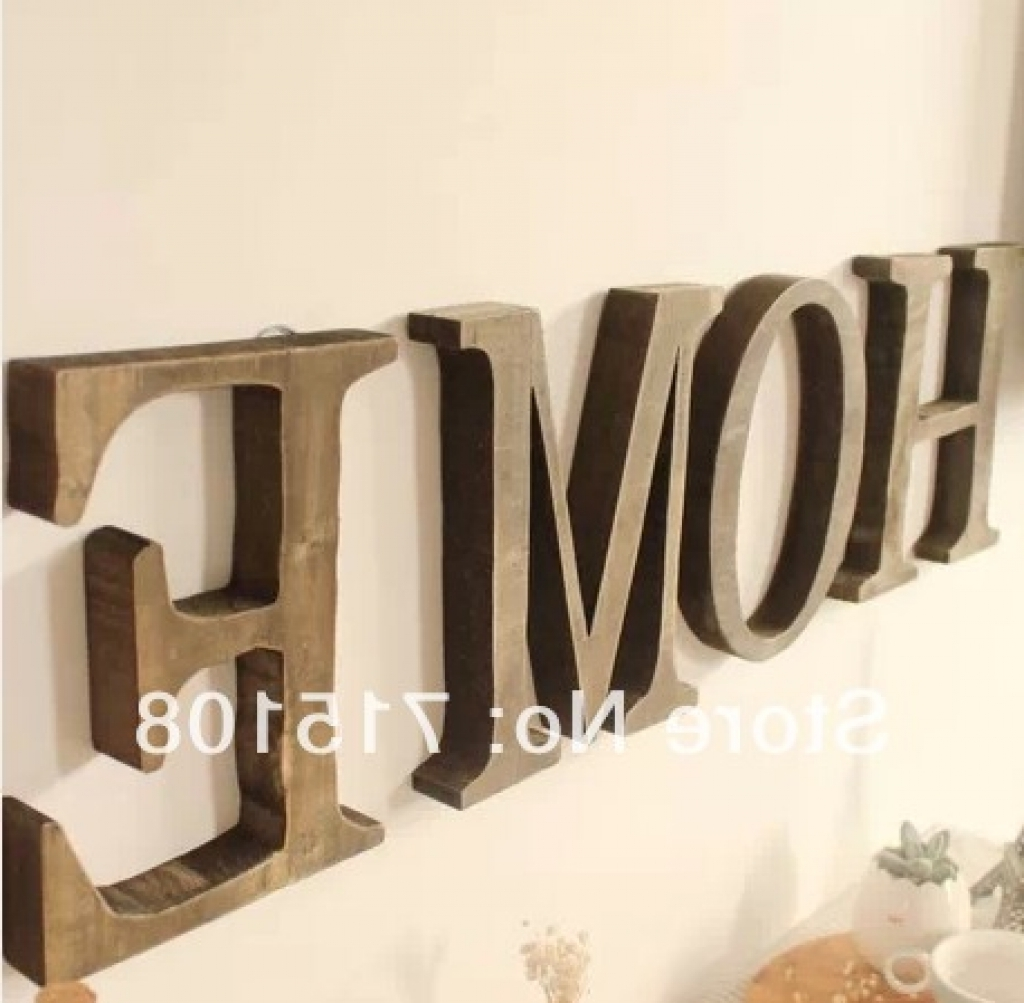 Letter Wall Art Within Famous Sofa Ideas (View 11 of 20)