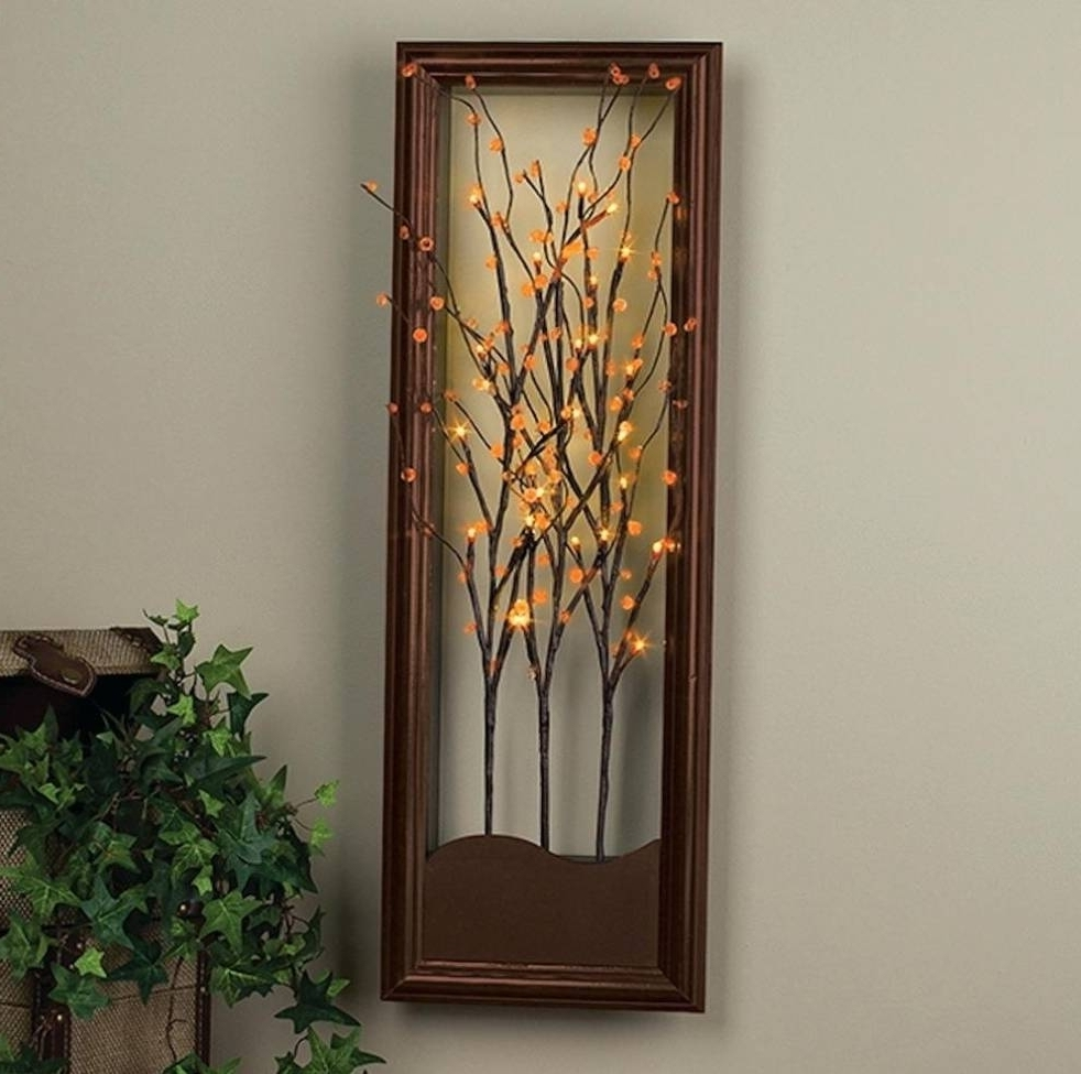 Lighted Wall Art Cool Lighted Wall Art – Wall Decoration And Wall For Current Lighted Wall Art (View 2 of 20)