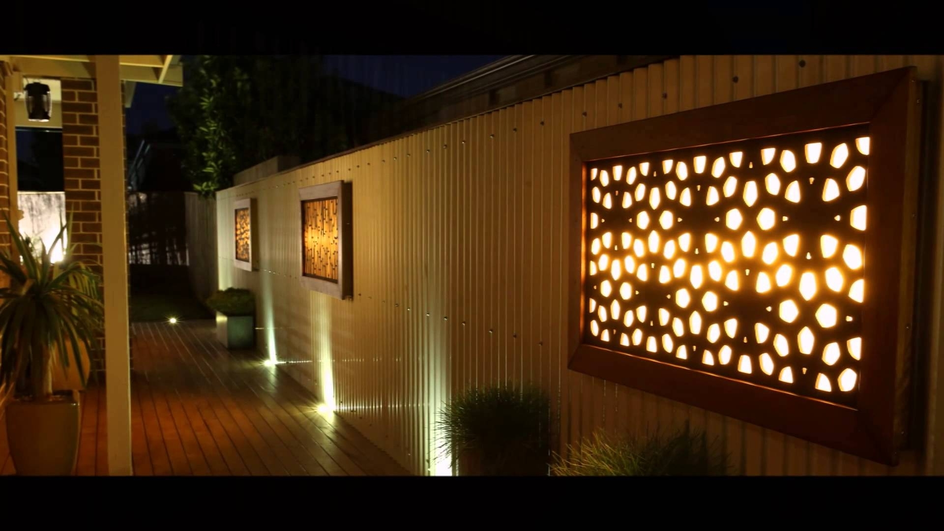 Litecrafts – Wall Art – Outdoor Feature Led – Light Boxes And Inside Latest Outdoor Wall Art (View 9 of 15)