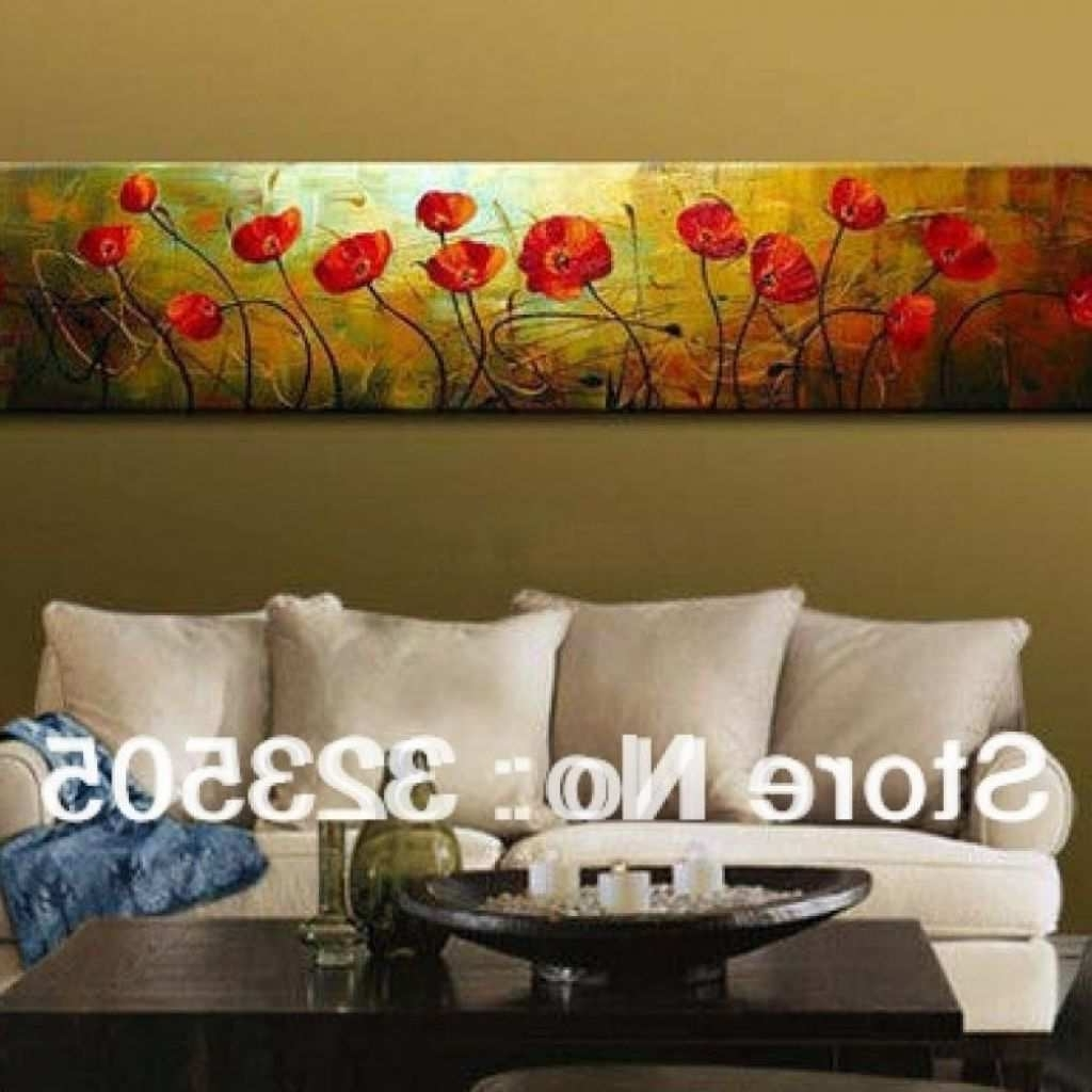Long Canvas Wall Art Regarding Most Up To Date Long Canvas Painting Lovely 20 Inspirations Horizontal Canvas Wall (View 3 of 20)