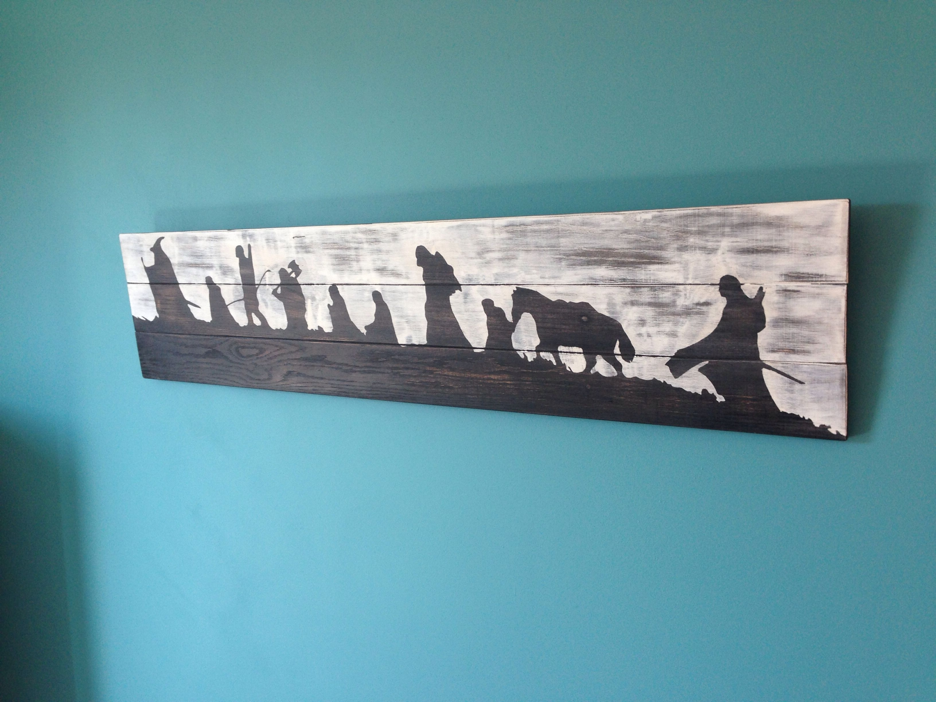Lord Of The Rings Wall Art Pertaining To 2018 Lord Of The Rings Wall Art (View 8 of 20)