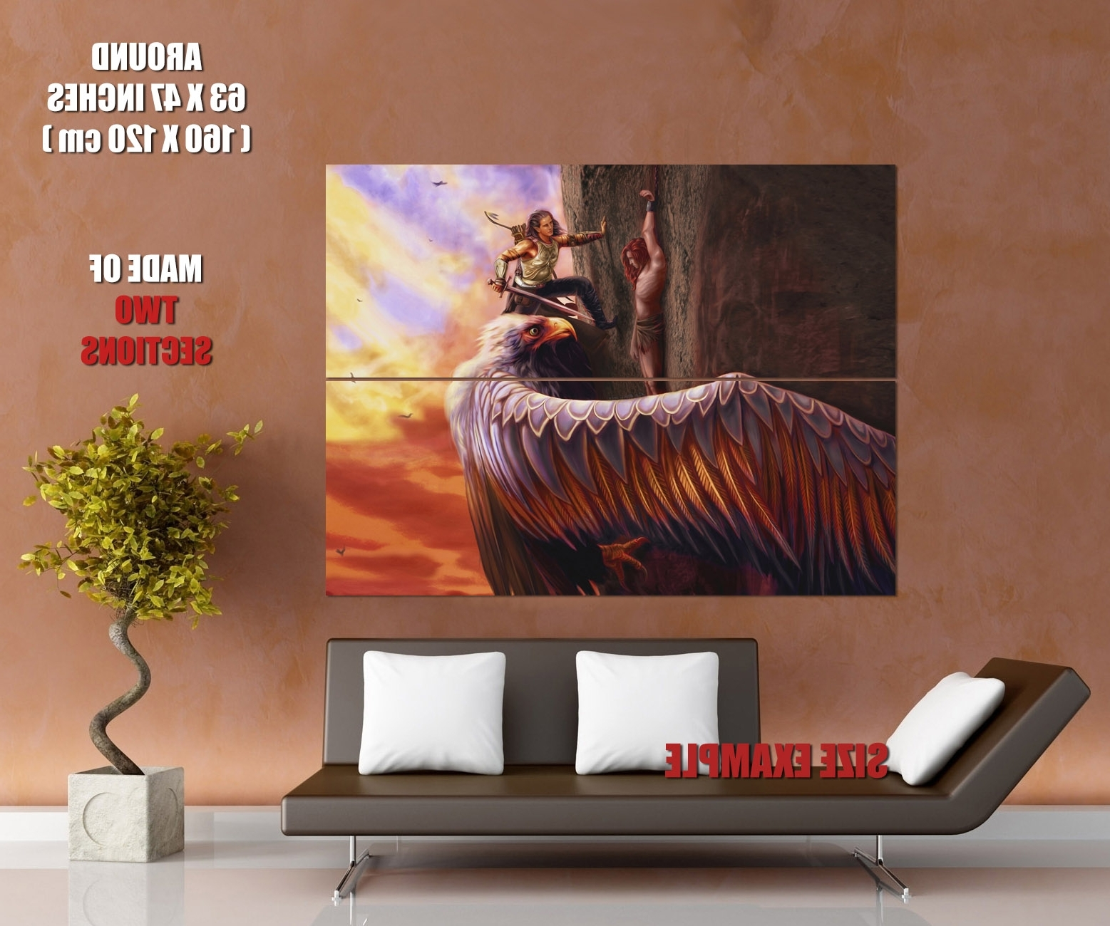 Lord Of The Rings Wall Art Throughout Fashionable The Lord Of The Rings Fingon Maedhros Art Wall Print Poster (Gallery 19 of 20)