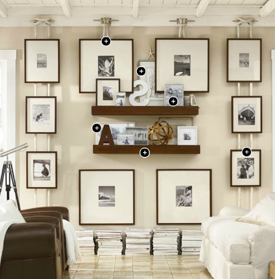 Lovely Gallery Wall Ideas Pottery Barn (Gallery 3 of 15)