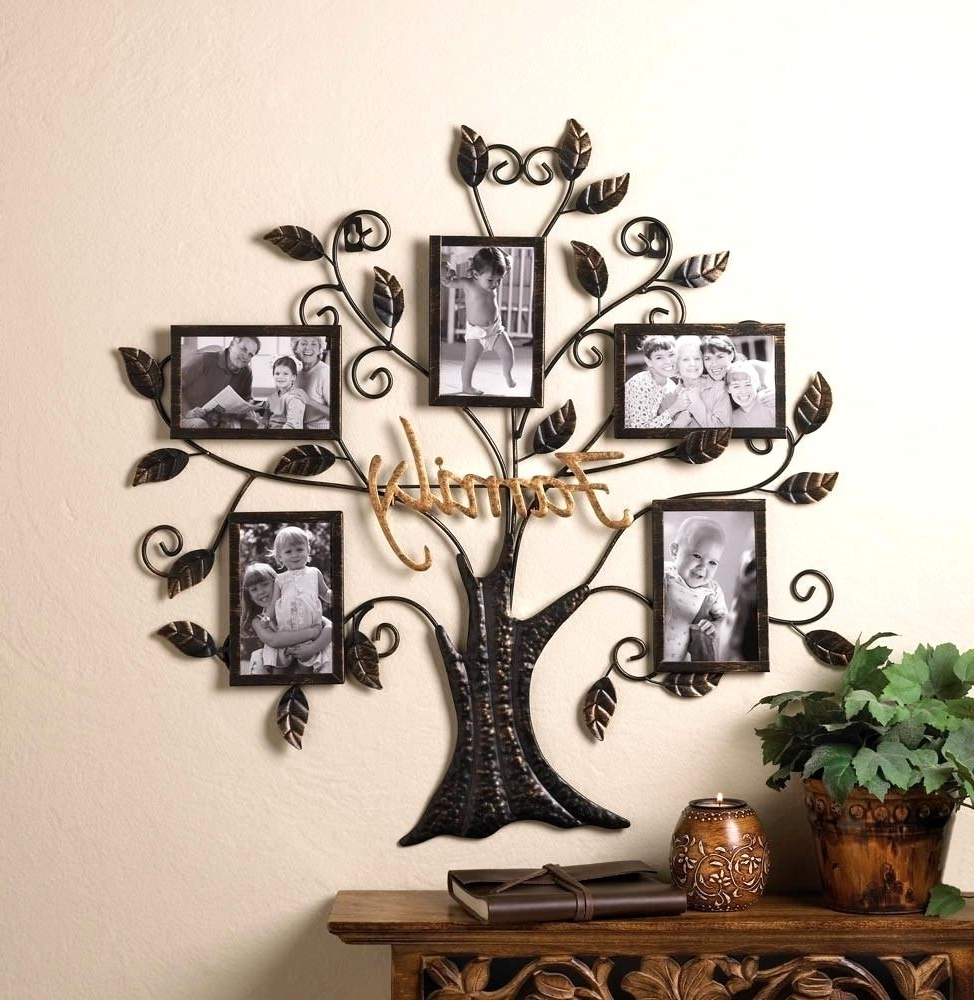 Lovely Tree Wall Decor Metal Personalized Wall Art Beautiful Metal Throughout Most Current Personalized Metal Wall Art (View 17 of 20)