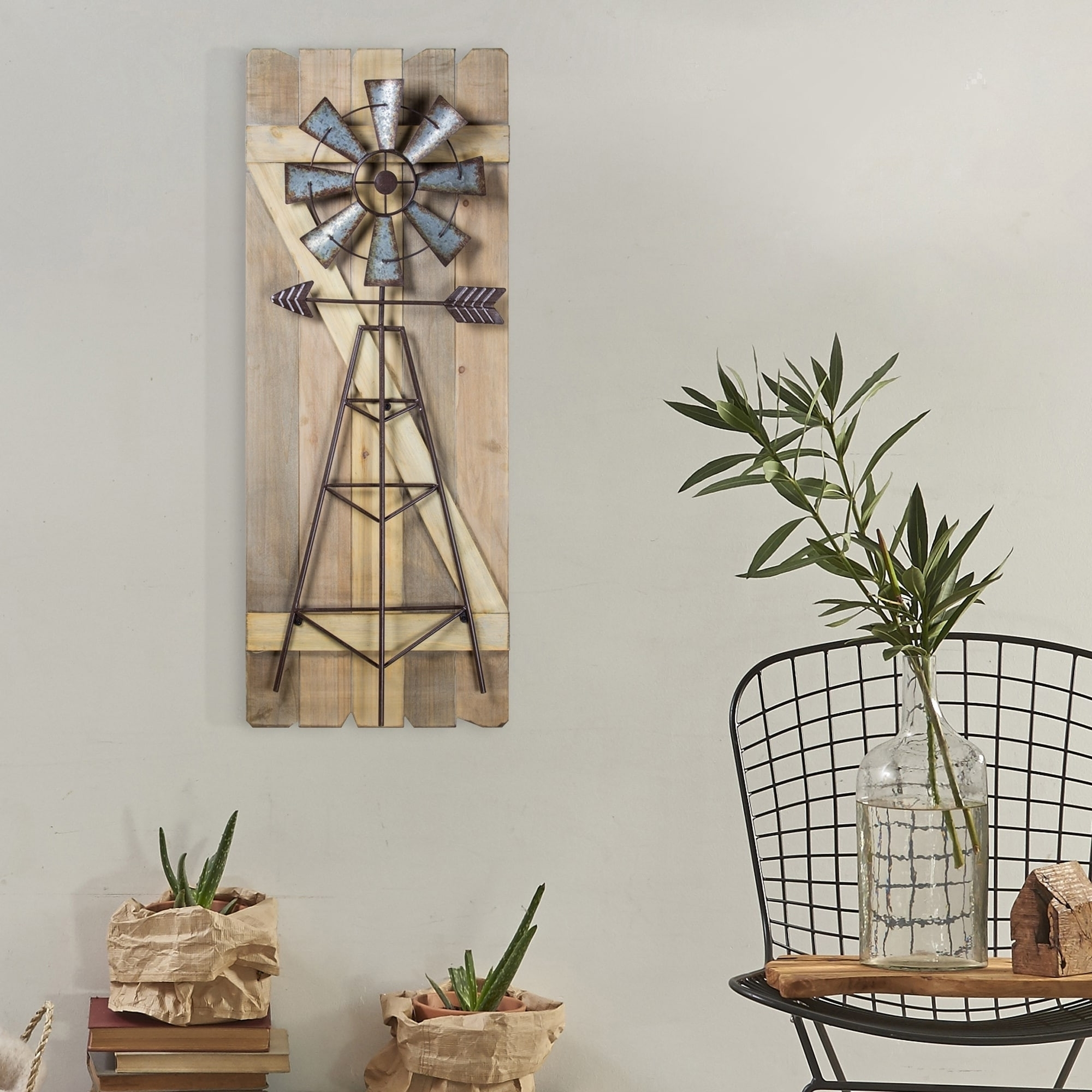 Magnificent Metal Windmill Wall Decor Crest Wall Art Ideas For Most Popular Windmill Wall Art (View 4 of 20)