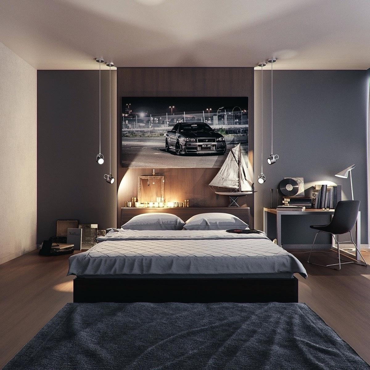Manly Wall Art With Regard To Most Current Uncategorized : Decoration Masculine Bedroom Design Manly Sets (View 14 of 20)