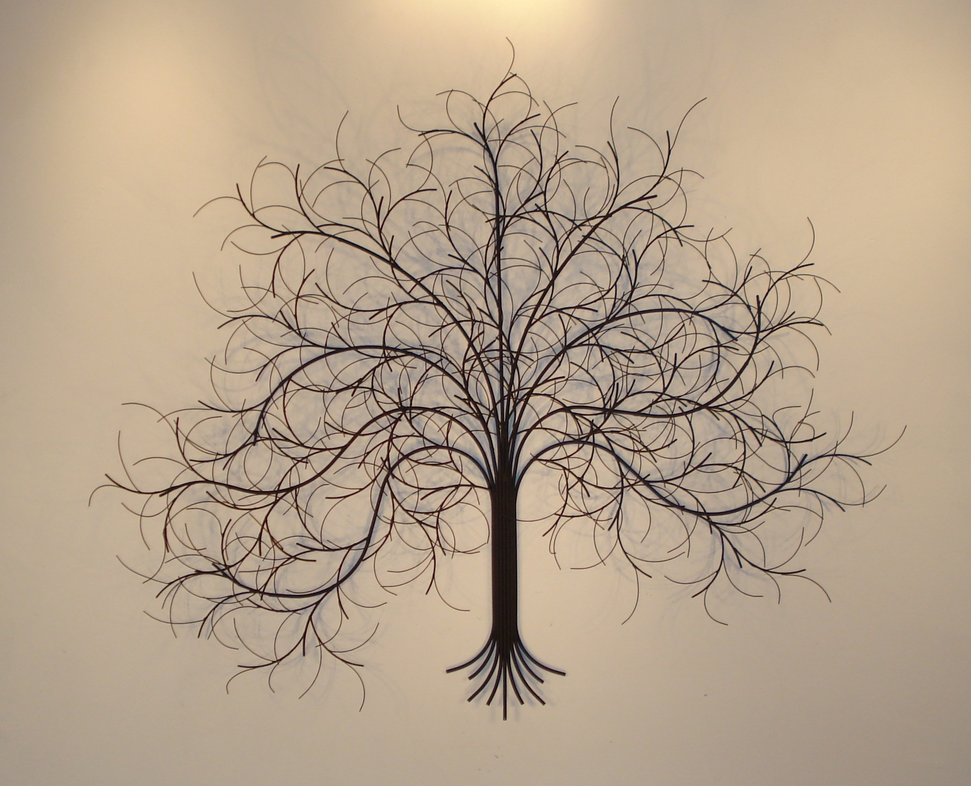 March Tree Metal Wall Art – Metal Sculpture And Wall Decor – Gurtan With Regard To Newest Black Metal Wall Art (Gallery 1 of 20)