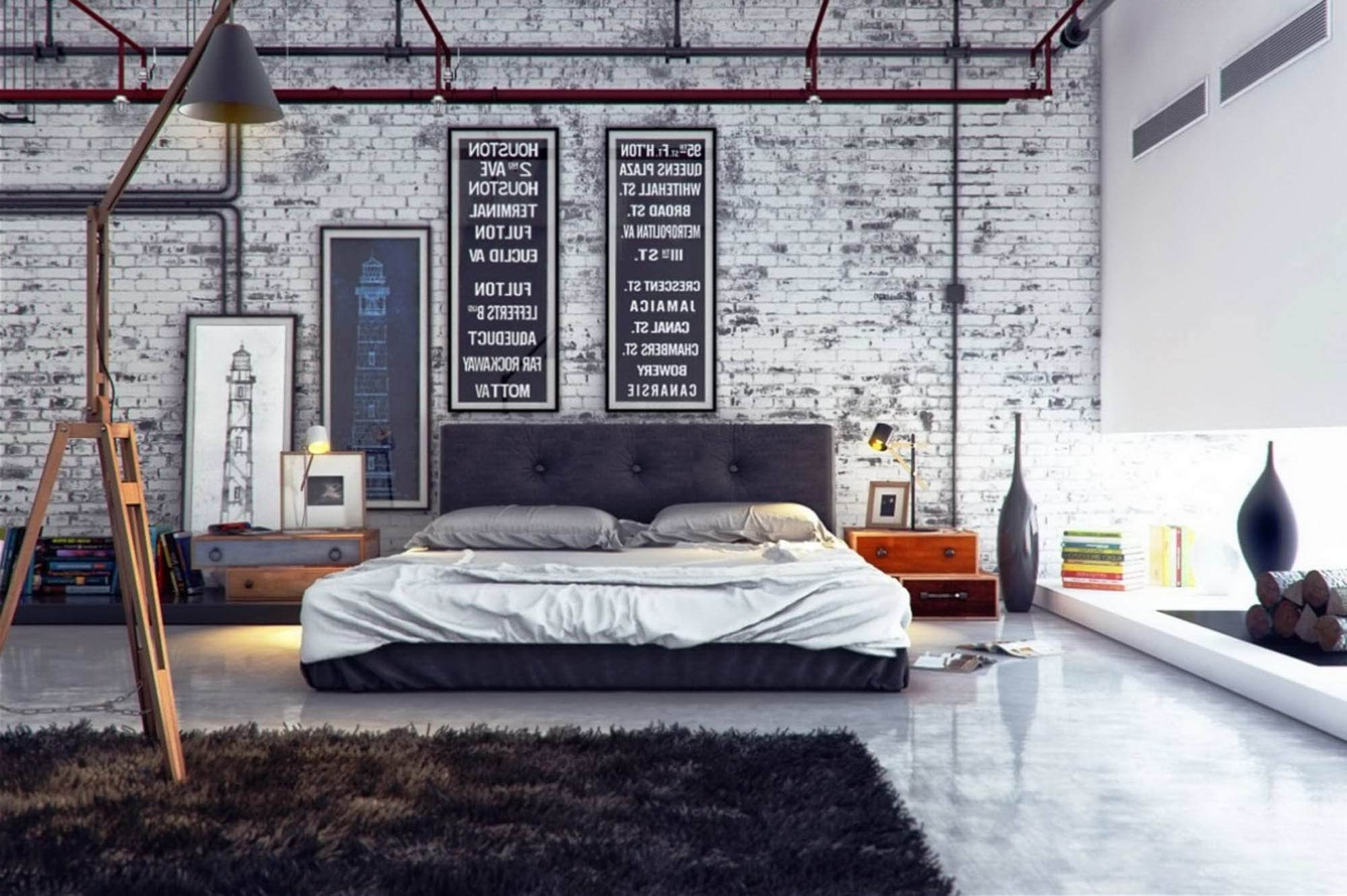 Masculine Bedroom Decor — Gentleman's Gazette Inside Well Known Manly Wall Art (Gallery 20 of 20)