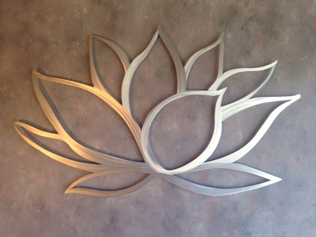 Metal Flowers Wall Art Inside Current Outdoor Metal Wall Decor Ideas (View 10 of 20)