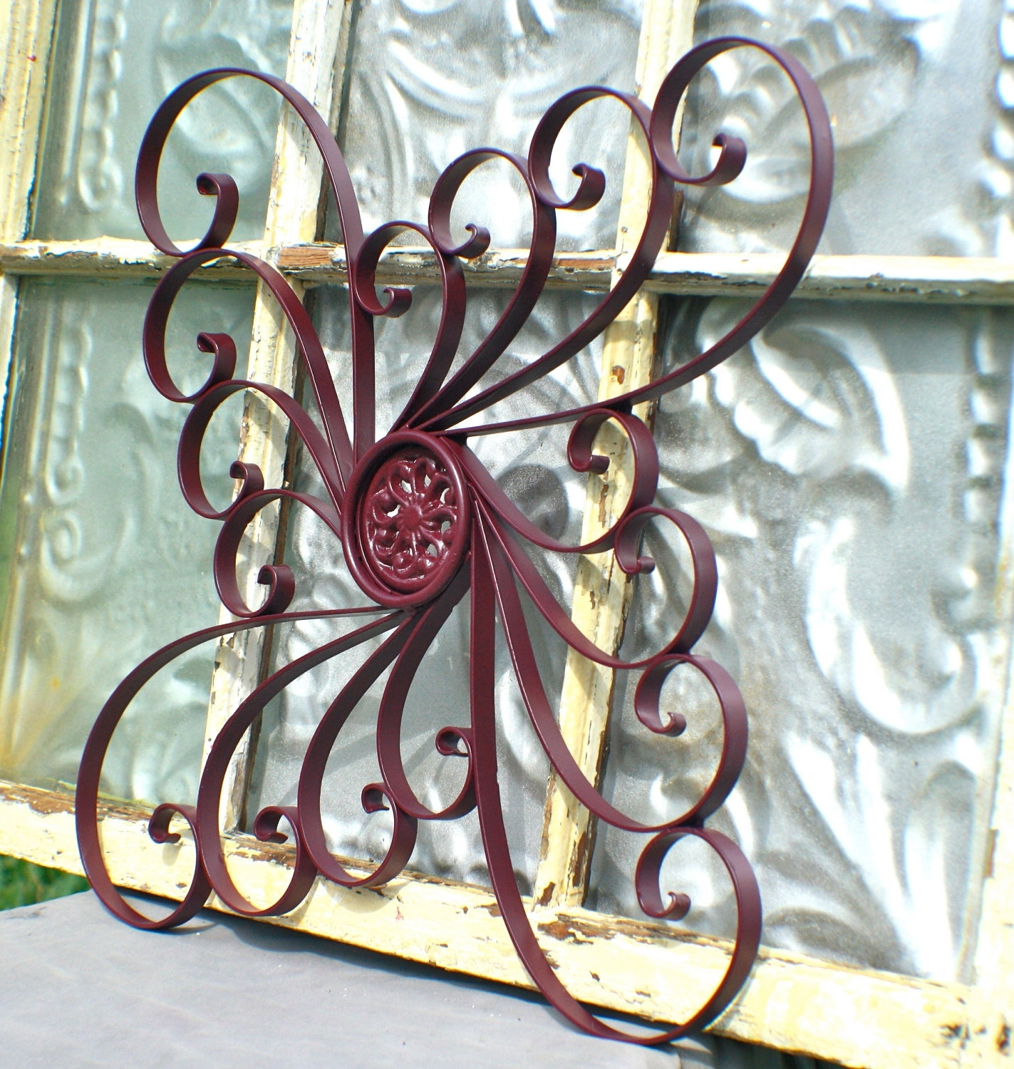 Metal Outdoor Wall Art Inside Best And Newest Laser Cut Wall Art Metal Tile Tnt Contemporary Hangings Wood And (View 12 of 20)