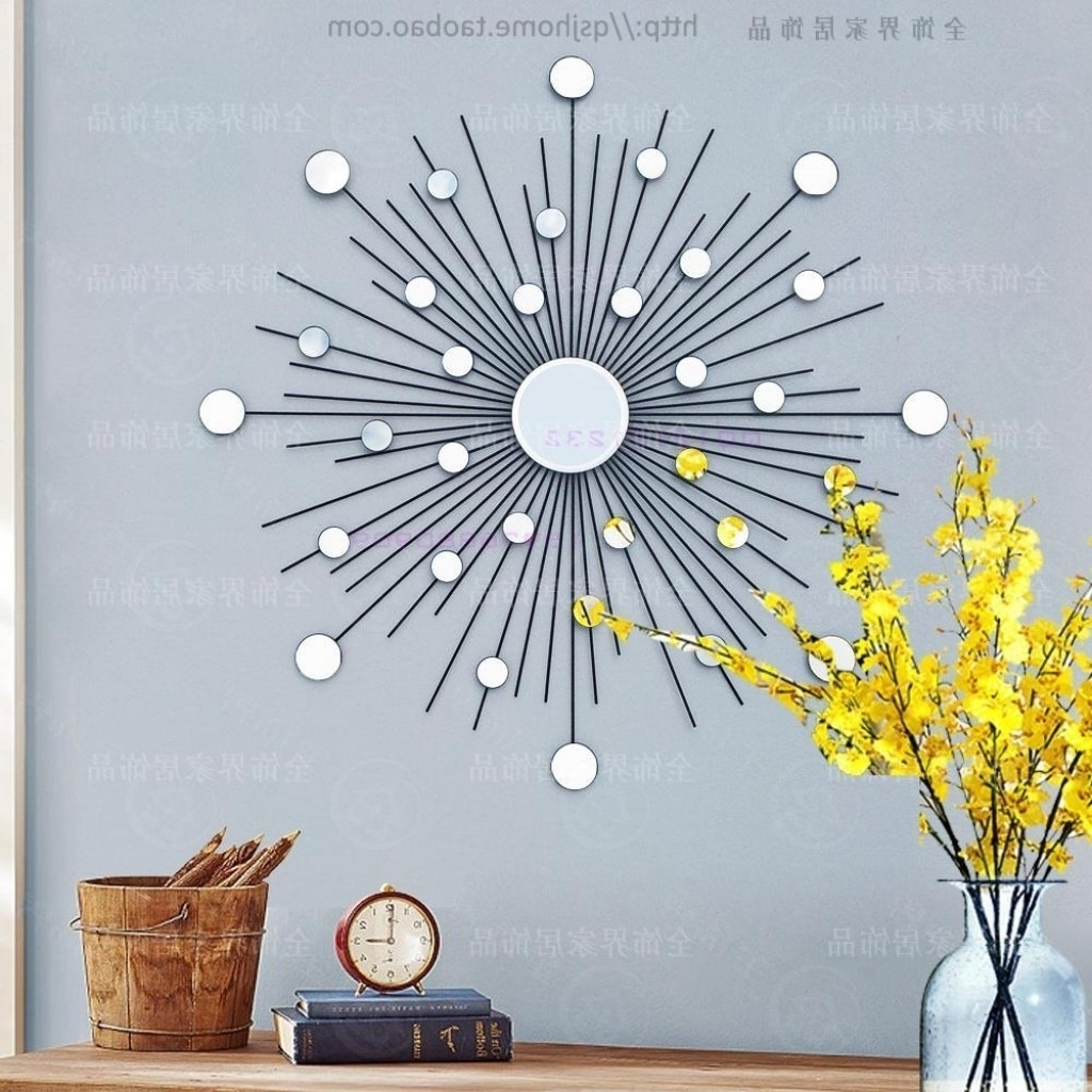 Metal Starburst Wall Decor Best Tripar Starburst Metal Wall Art Intended For Favorite Starburst Wall Art (View 6 of 20)