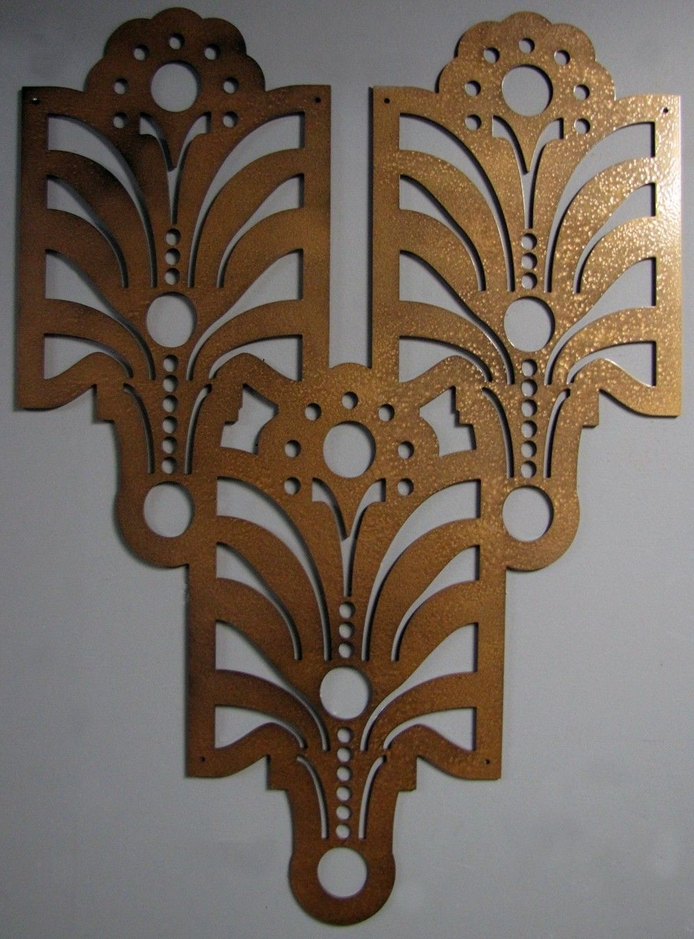 Metal Wall Art, Metal Inside Art Deco Wall Art (View 2 of 20)