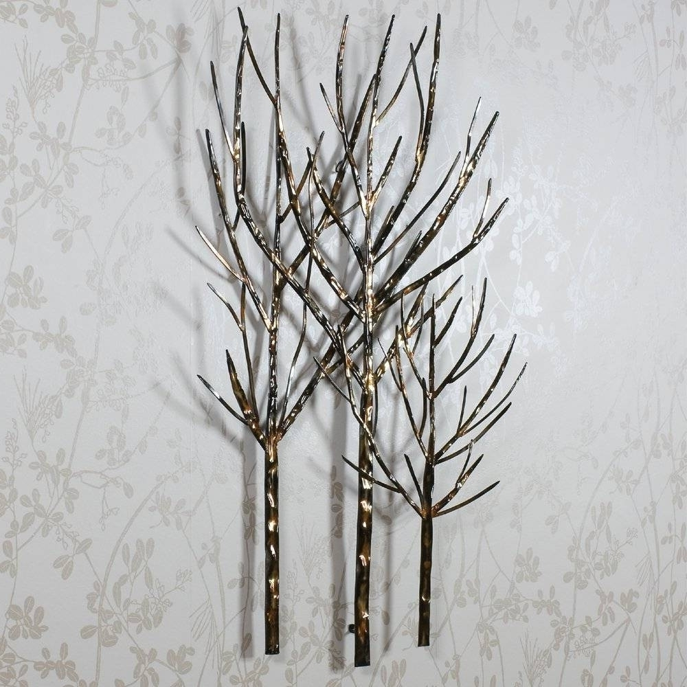 Metal Wall Art Trees Pertaining To Fashionable 18 Collection Of Metal Wall Art Trees And Branches Simple (View 5 of 20)
